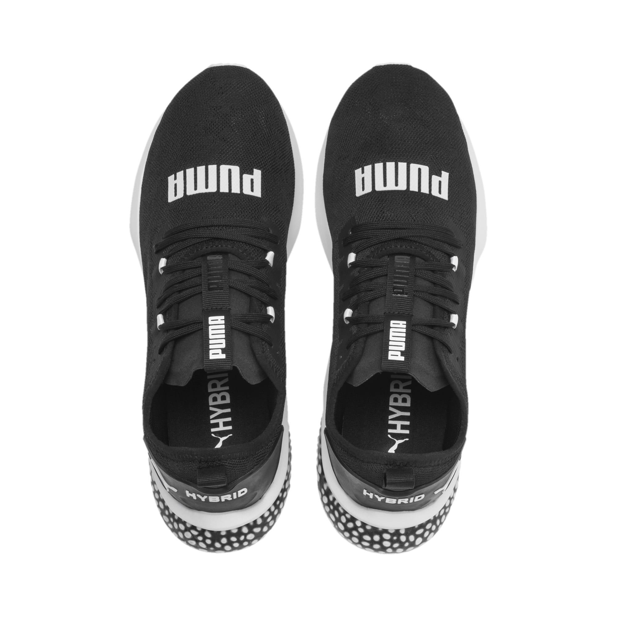 Thumbnail 7 of HYBRID NX Camo Men's Running Shoes, Puma Black-Puma White, medium