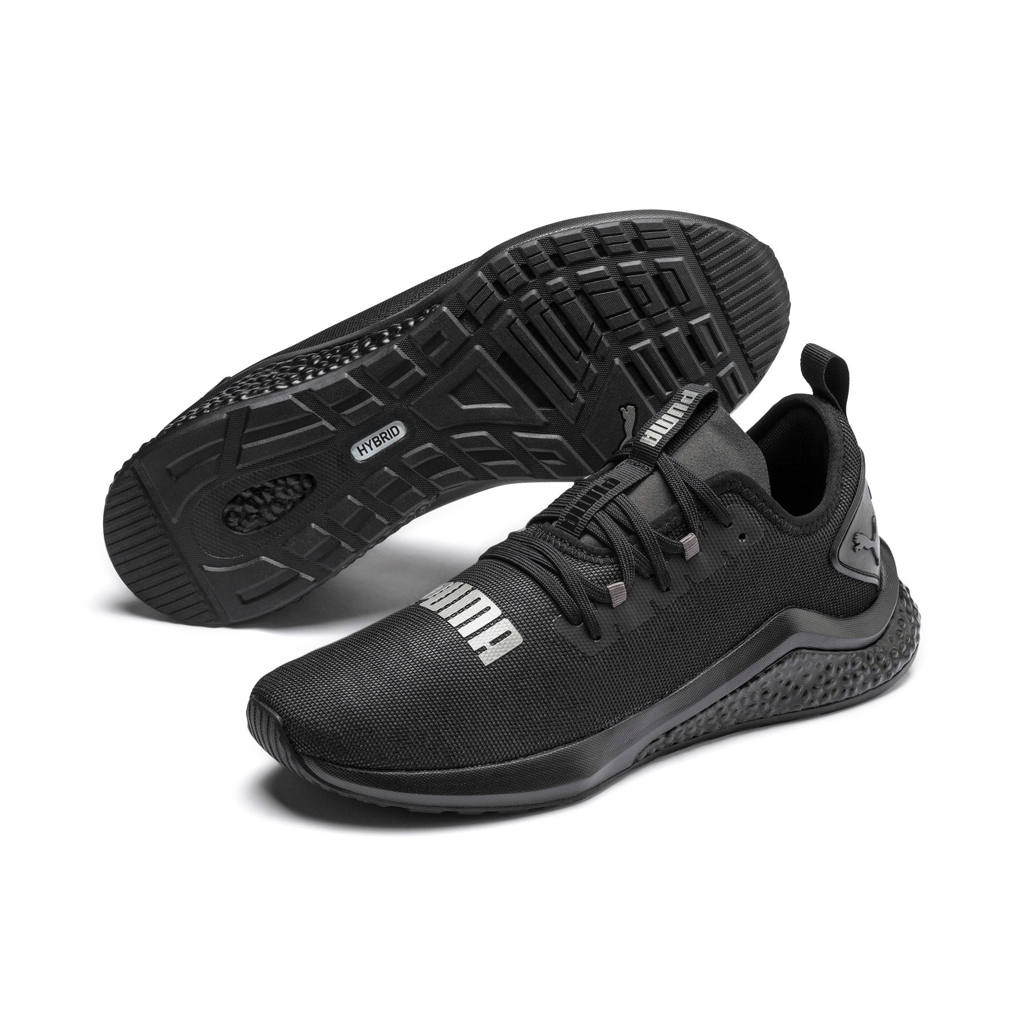 Thumbnail 3 of Chaussure de course HYBRID NX Rave pour homme, Puma Black, medium