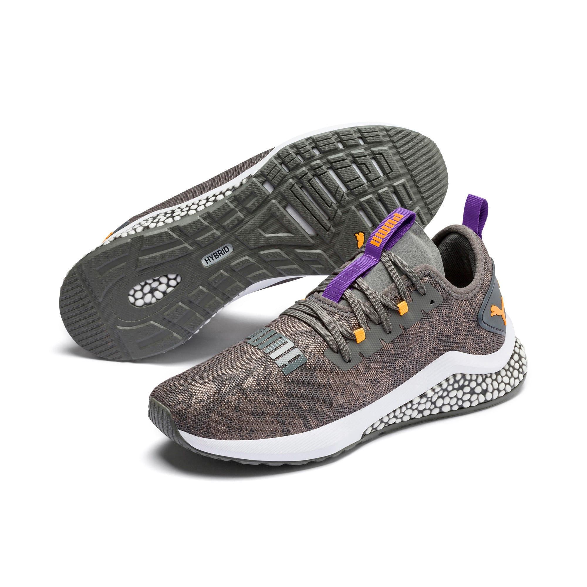 Thumbnail 2 of HYBRID NX Rave Men's Running Shoes, CASTLEROCK-Purple-Orange, medium