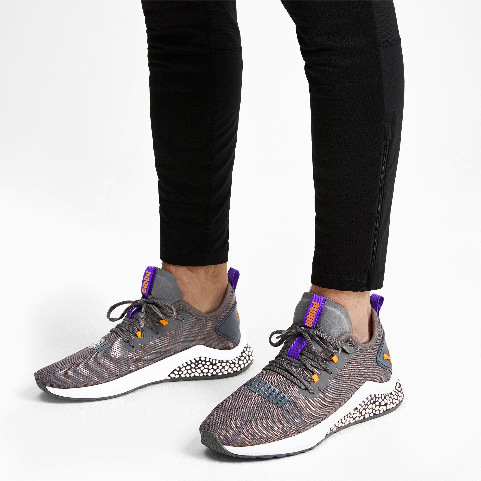 Thumbnail 3 of HYBRID NX Rave Men's Running Shoes, CASTLEROCK-Purple-Orange, medium