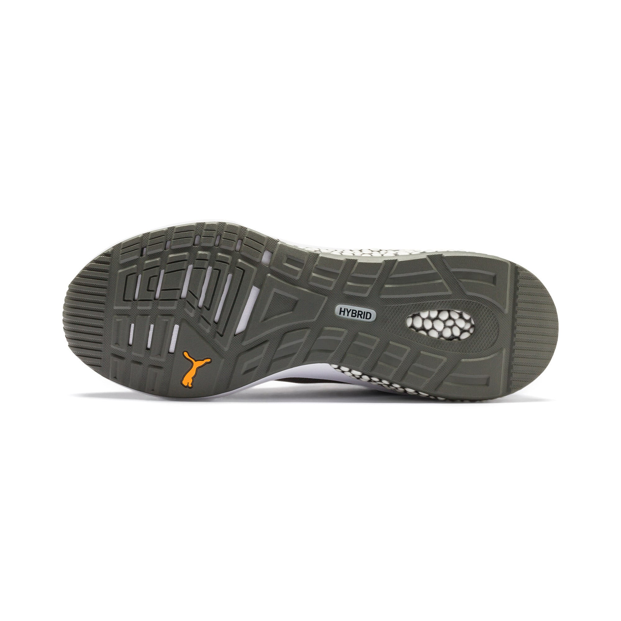Thumbnail 4 of HYBRID NX Rave Men's Running Shoes, CASTLEROCK-Purple-Orange, medium