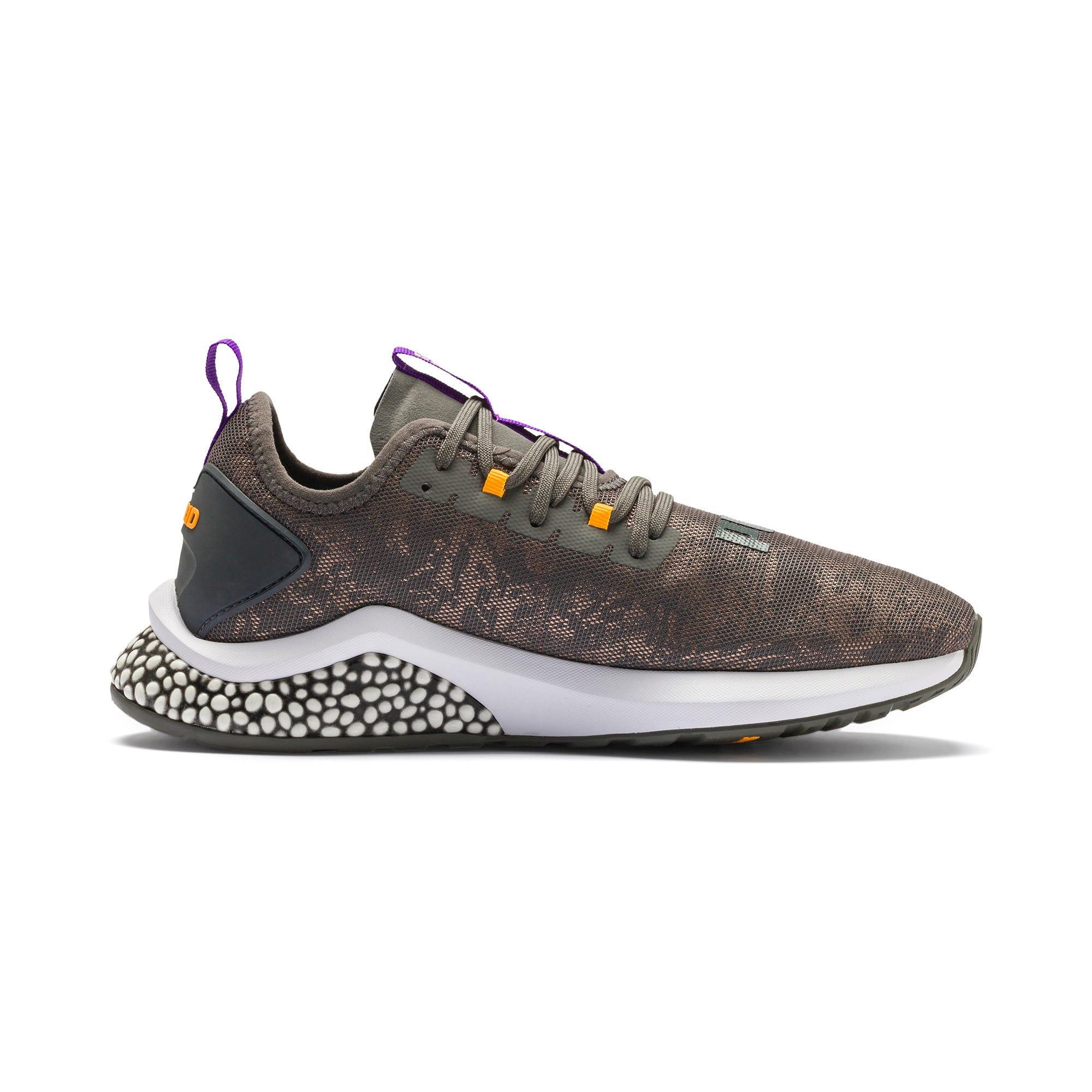Thumbnail 6 of HYBRID NX Rave Men's Running Shoes, CASTLEROCK-Purple-Orange, medium