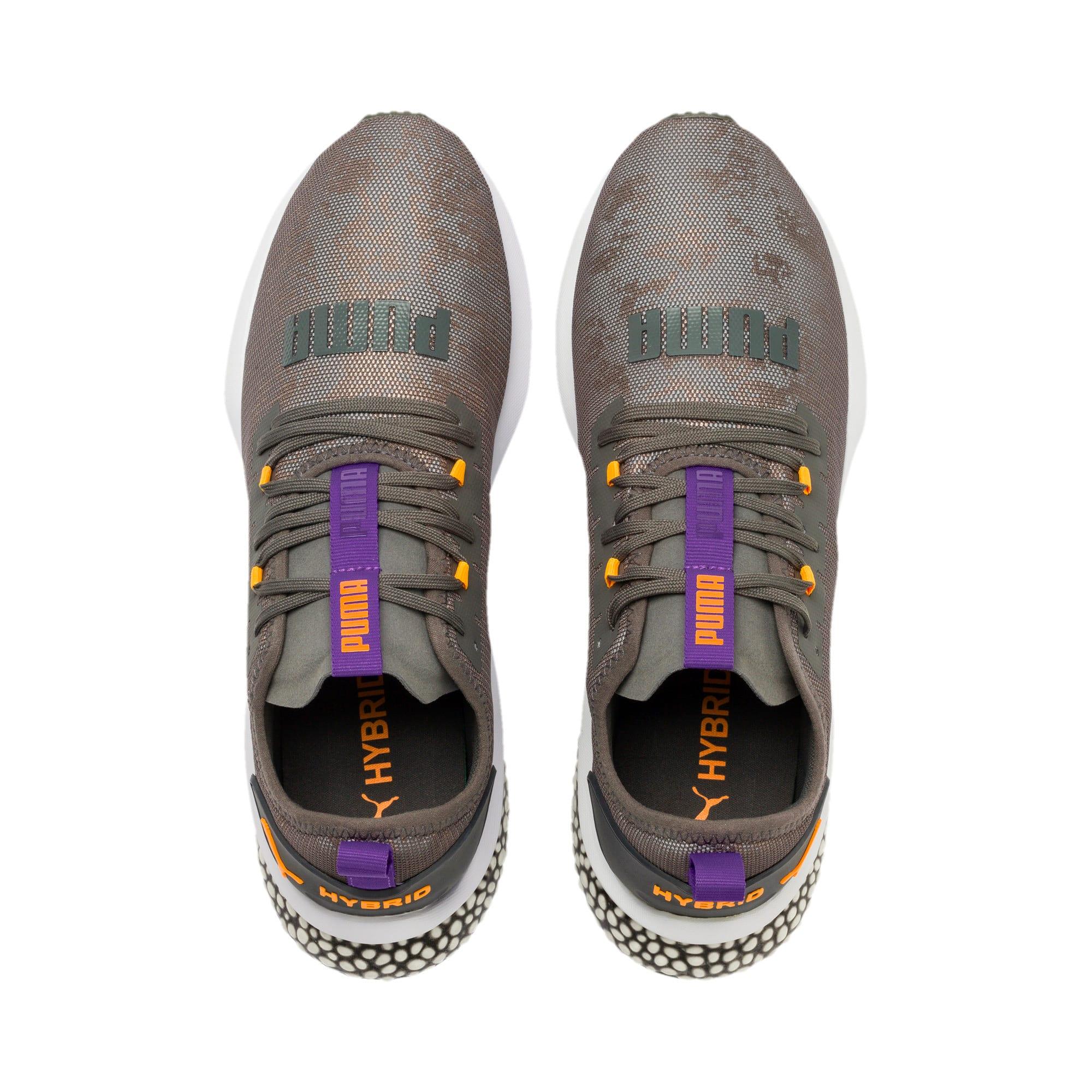 Thumbnail 7 of HYBRID NX Rave Men's Running Shoes, CASTLEROCK-Purple-Orange, medium