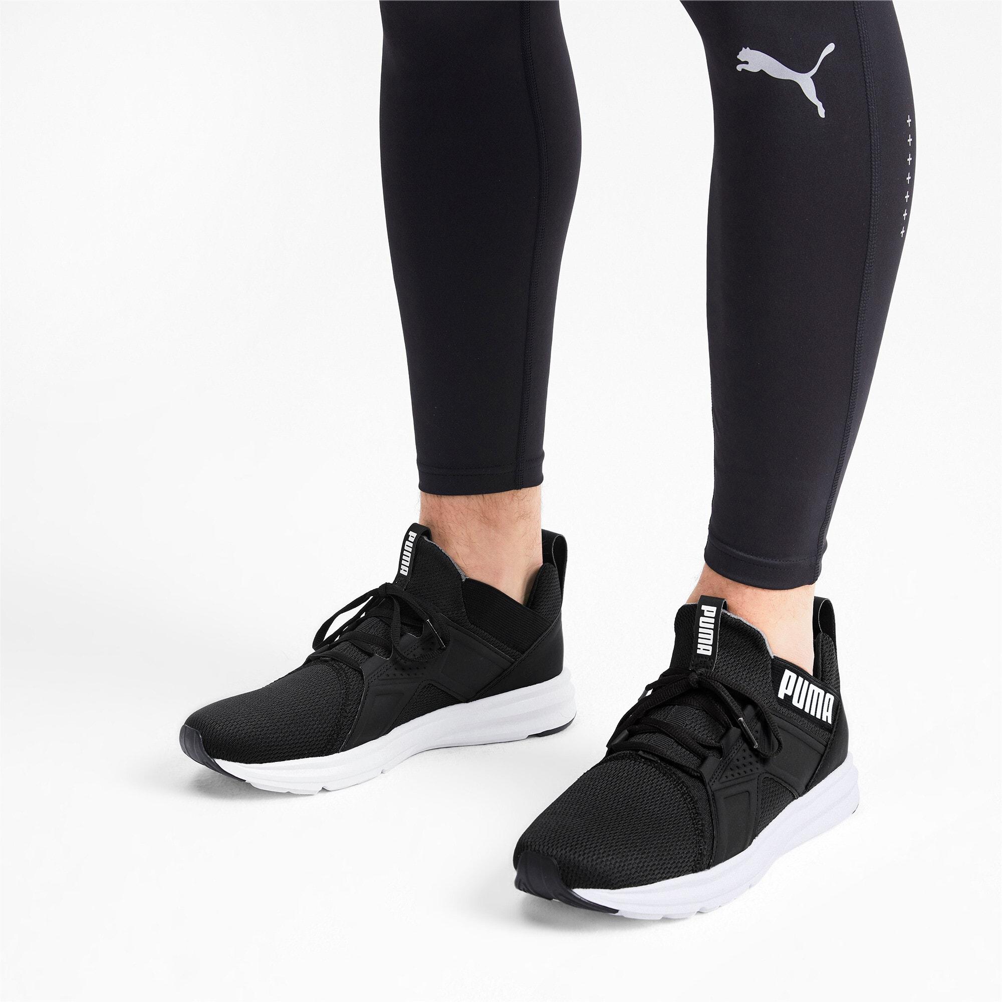Thumbnail 2 of Enzo Sport Men's Training Shoes, Puma Black-Puma White, medium