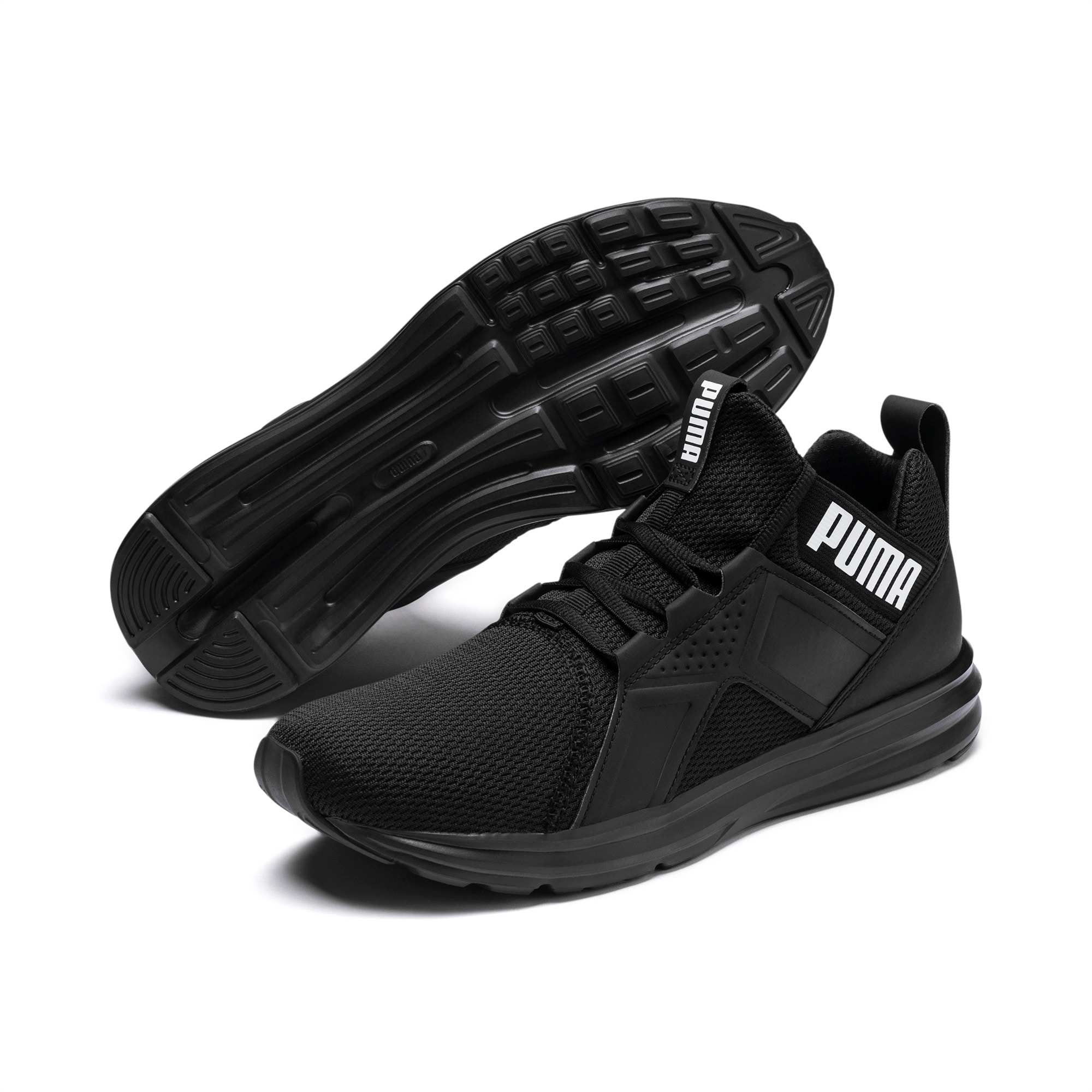 Mens – Puma Enzo Men's Training Shoes Running + Training Puma Black