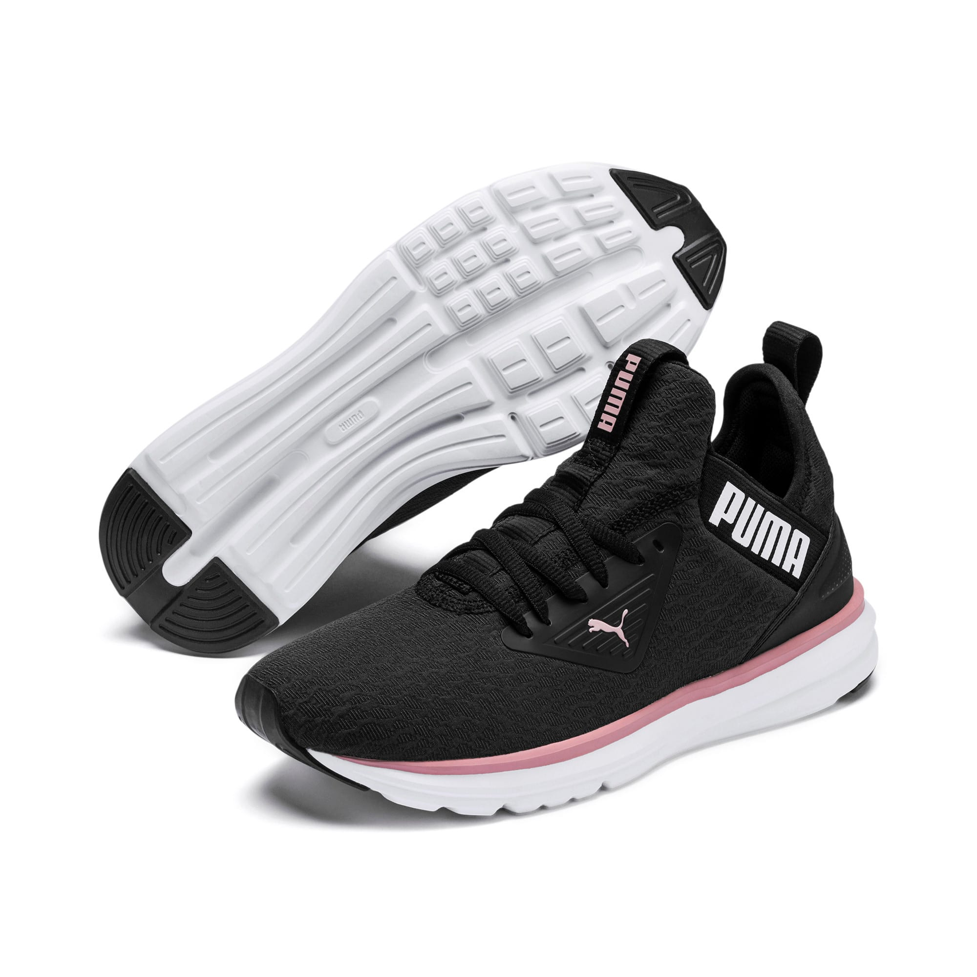Thumbnail 3 of Enzo Beta Fluid Women's Training Shoes, Puma Black-Bridal Rose, medium