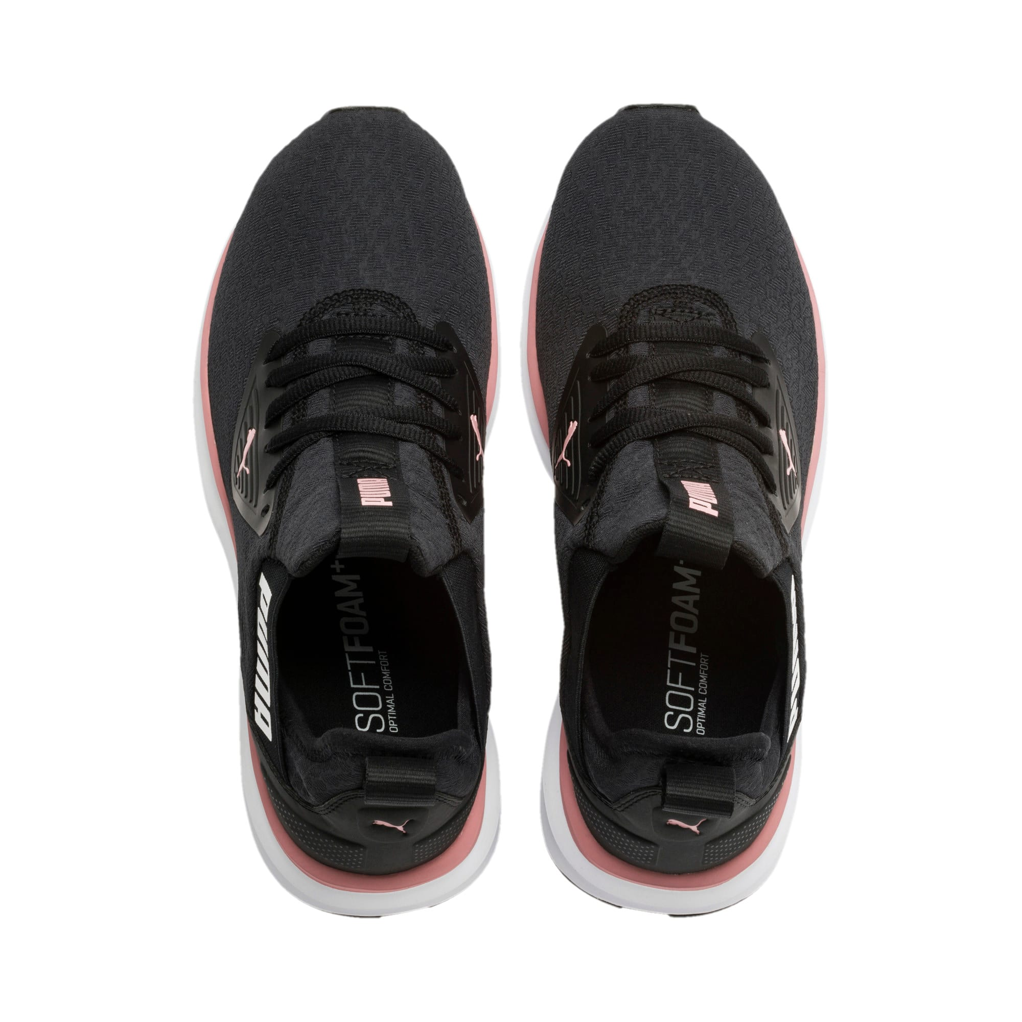 Thumbnail 7 of Enzo Beta Fluid Women's Training Shoes, Puma Black-Bridal Rose, medium