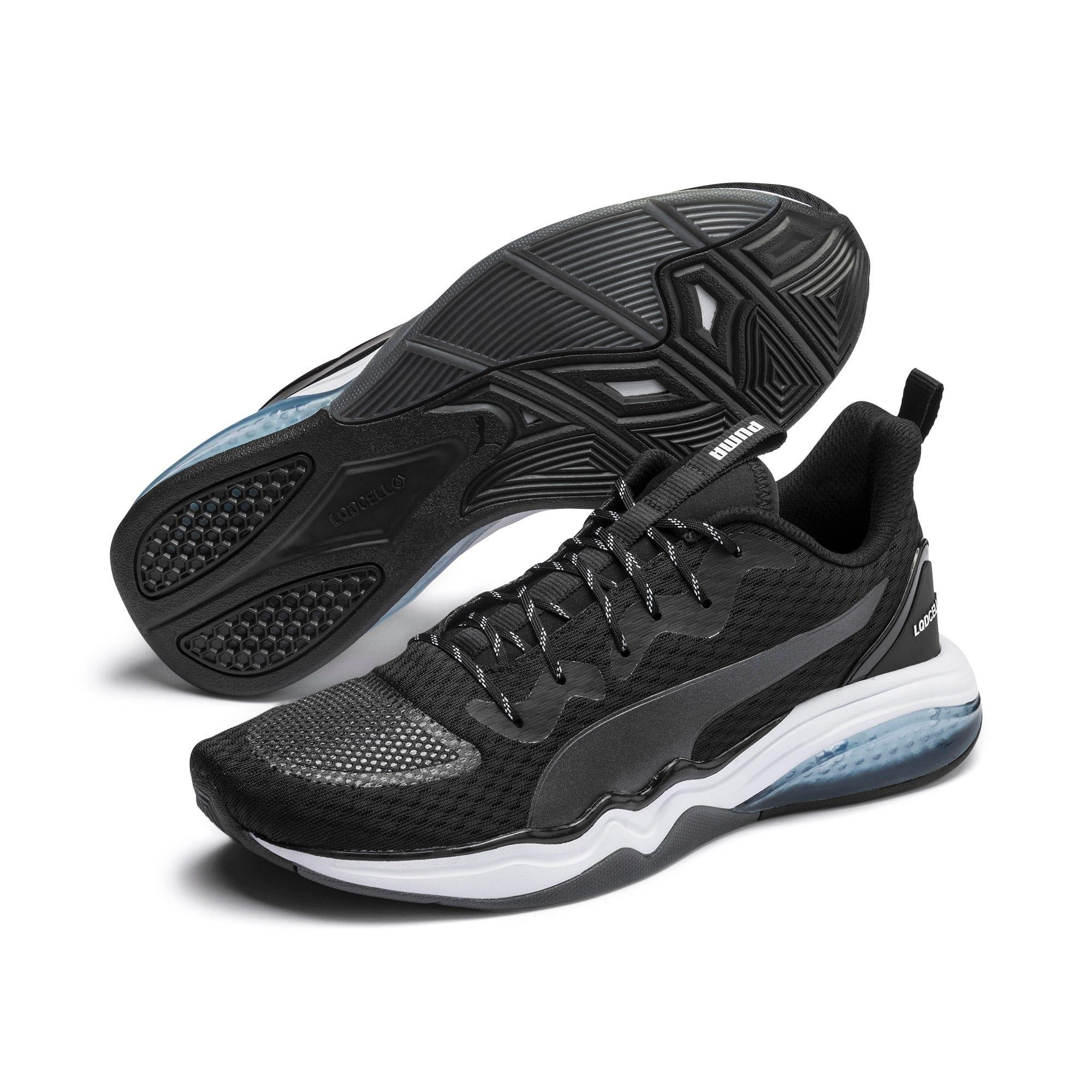 Thumbnail 4 of LQDCELL Tension Men's Training Shoes, Puma Black-Puma White, medium-IND