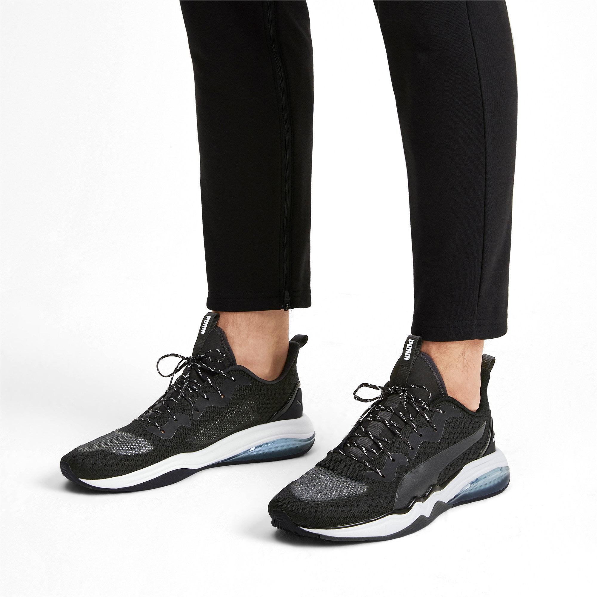 Thumbnail 2 of LQDCELL Tension Men's Training Shoes, Puma Black-Puma White, medium-IND