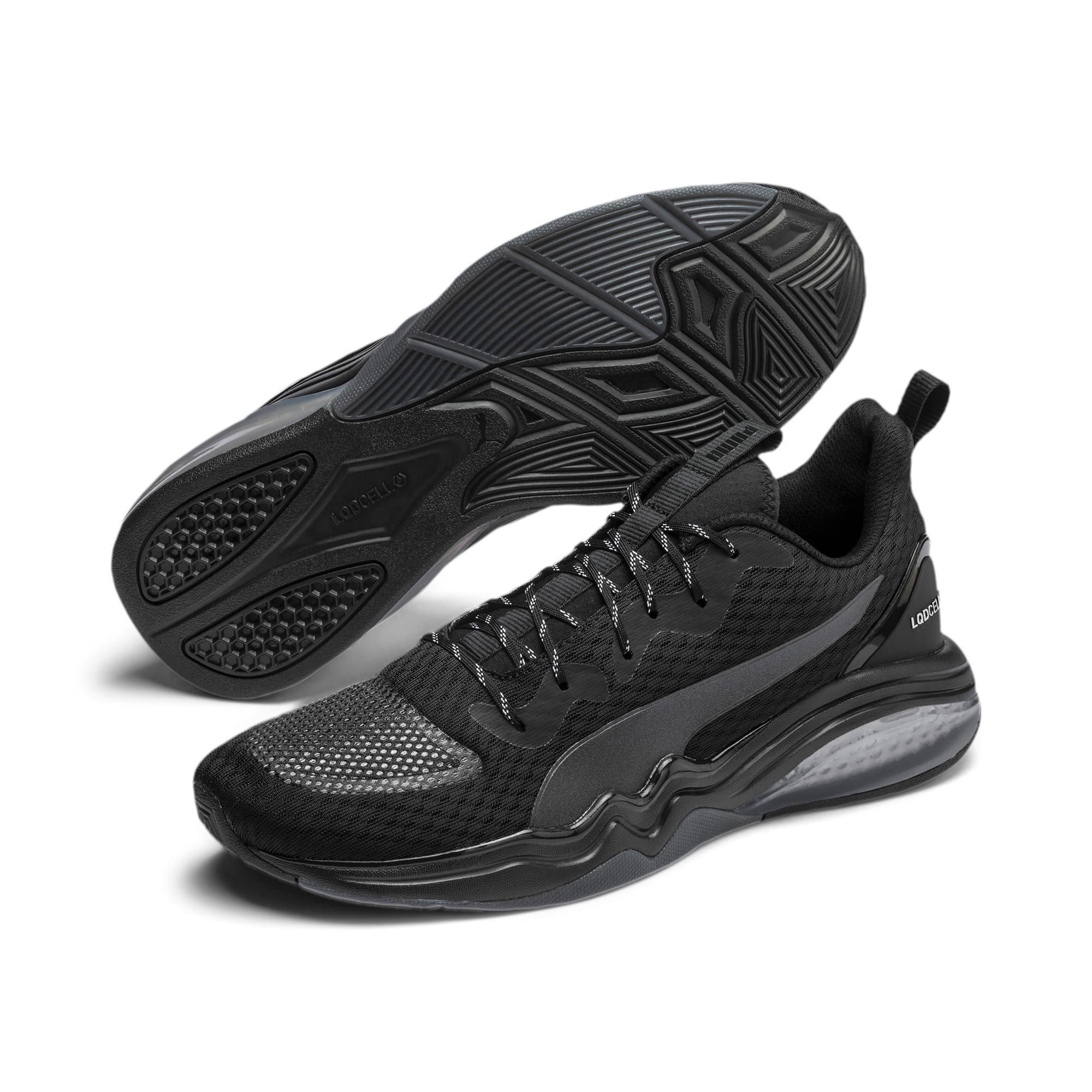 Thumbnail 3 of LQDCELL Tension Men's Training Shoes, Puma Black-Nrgy Red, medium