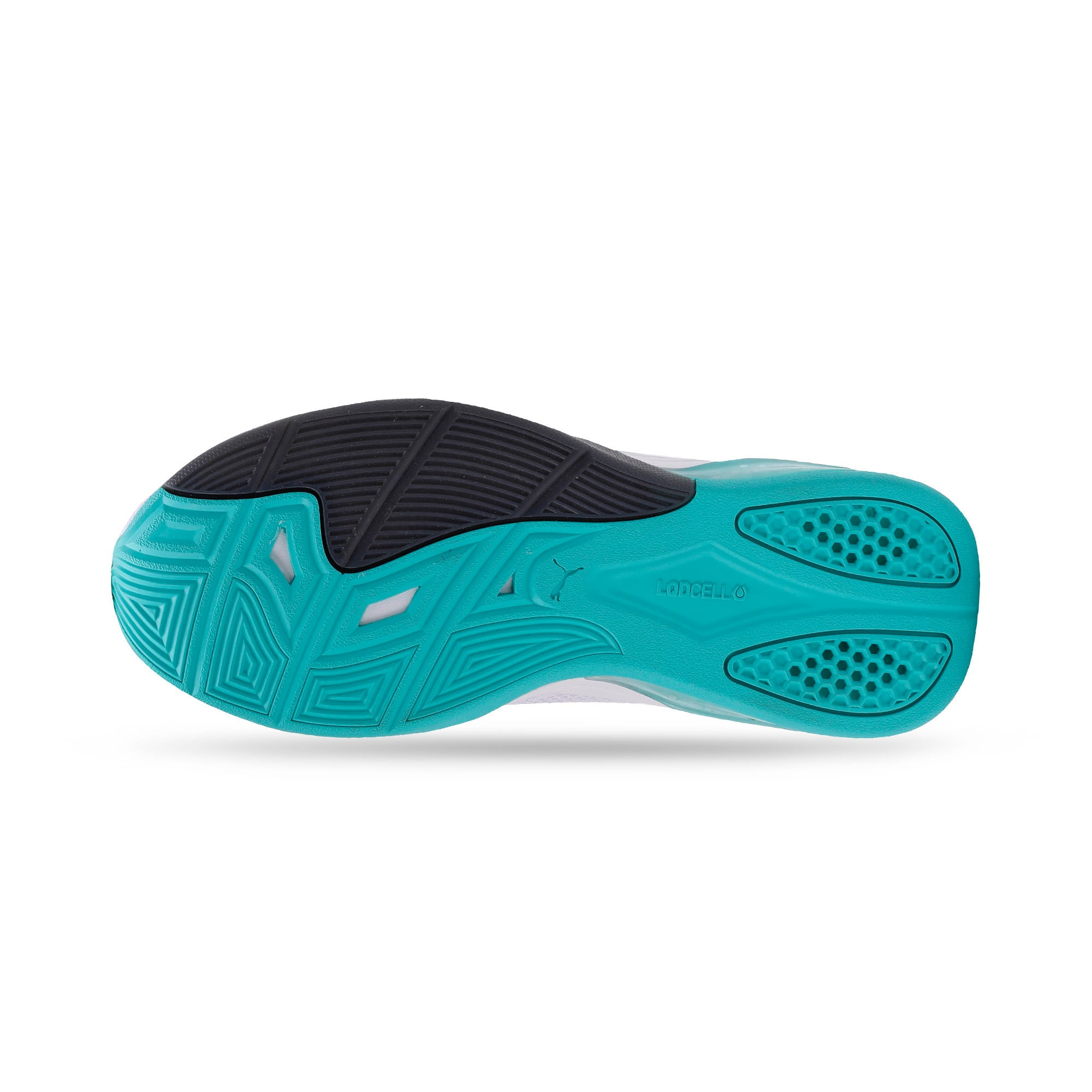 Thumbnail 7 of LQDCELL Tension Men's Training Shoes, Puma White-Blue Turquoise, medium-IND