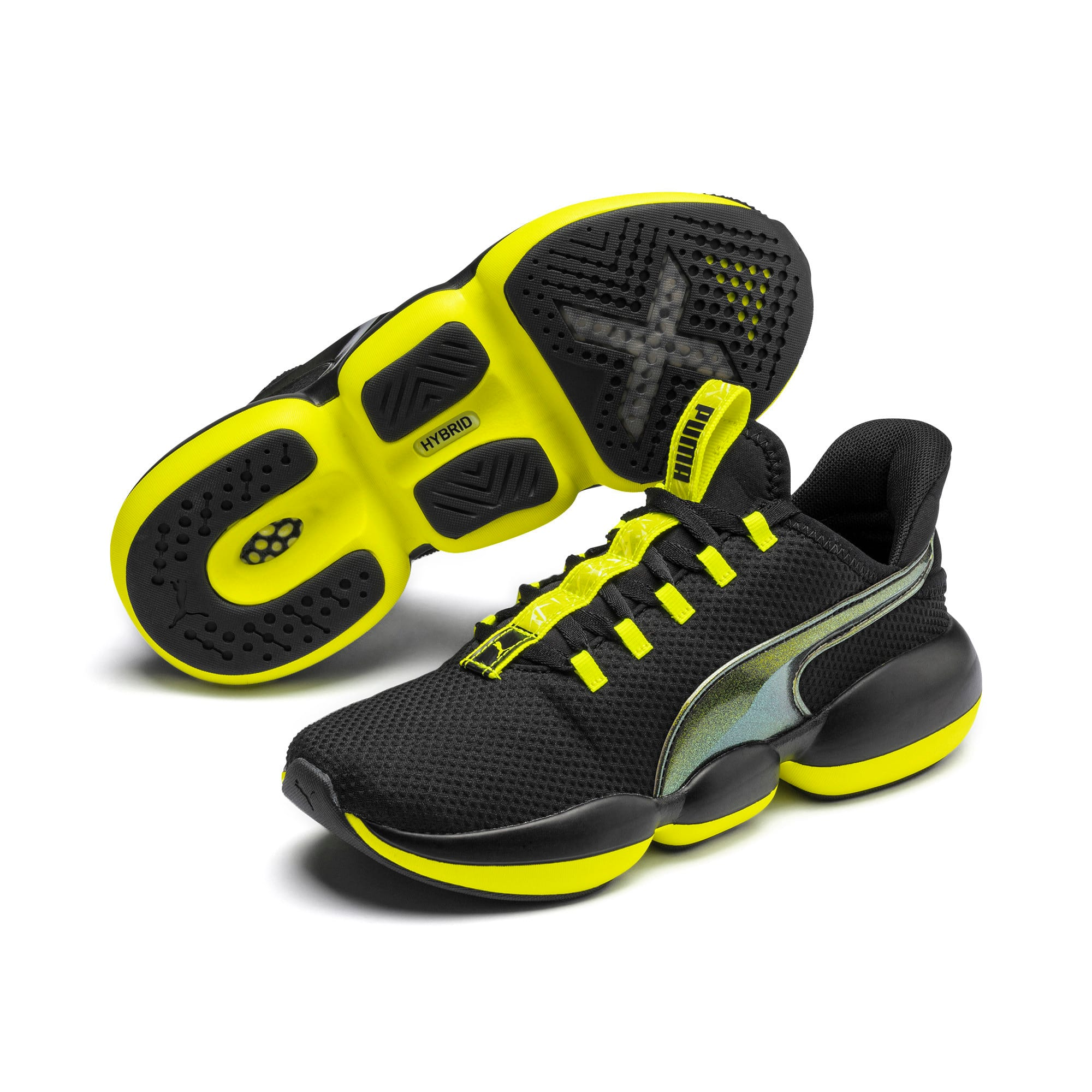 Thumbnail 3 of Mode XT Shift Women's Training Shoes, Puma Black-Yellow Alert, medium