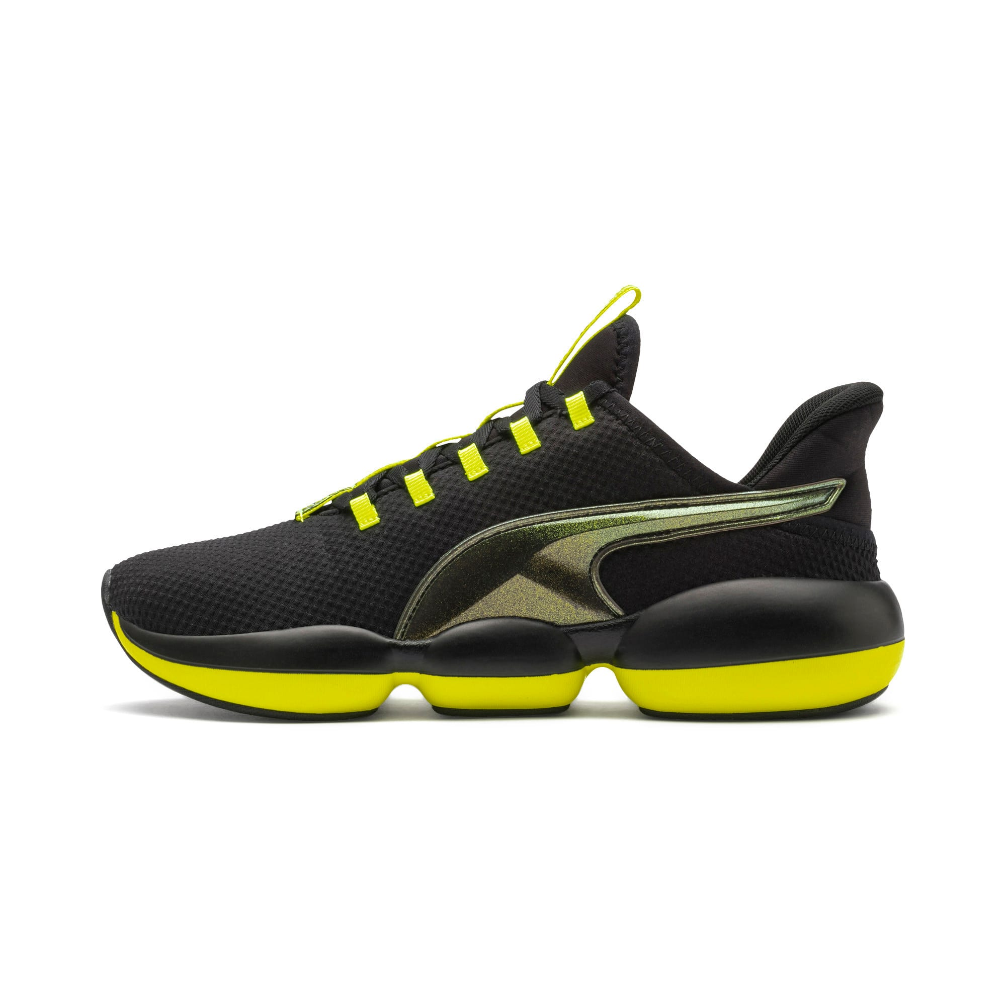 Thumbnail 1 of Mode XT Shift Women's Training Shoes, Puma Black-Yellow Alert, medium