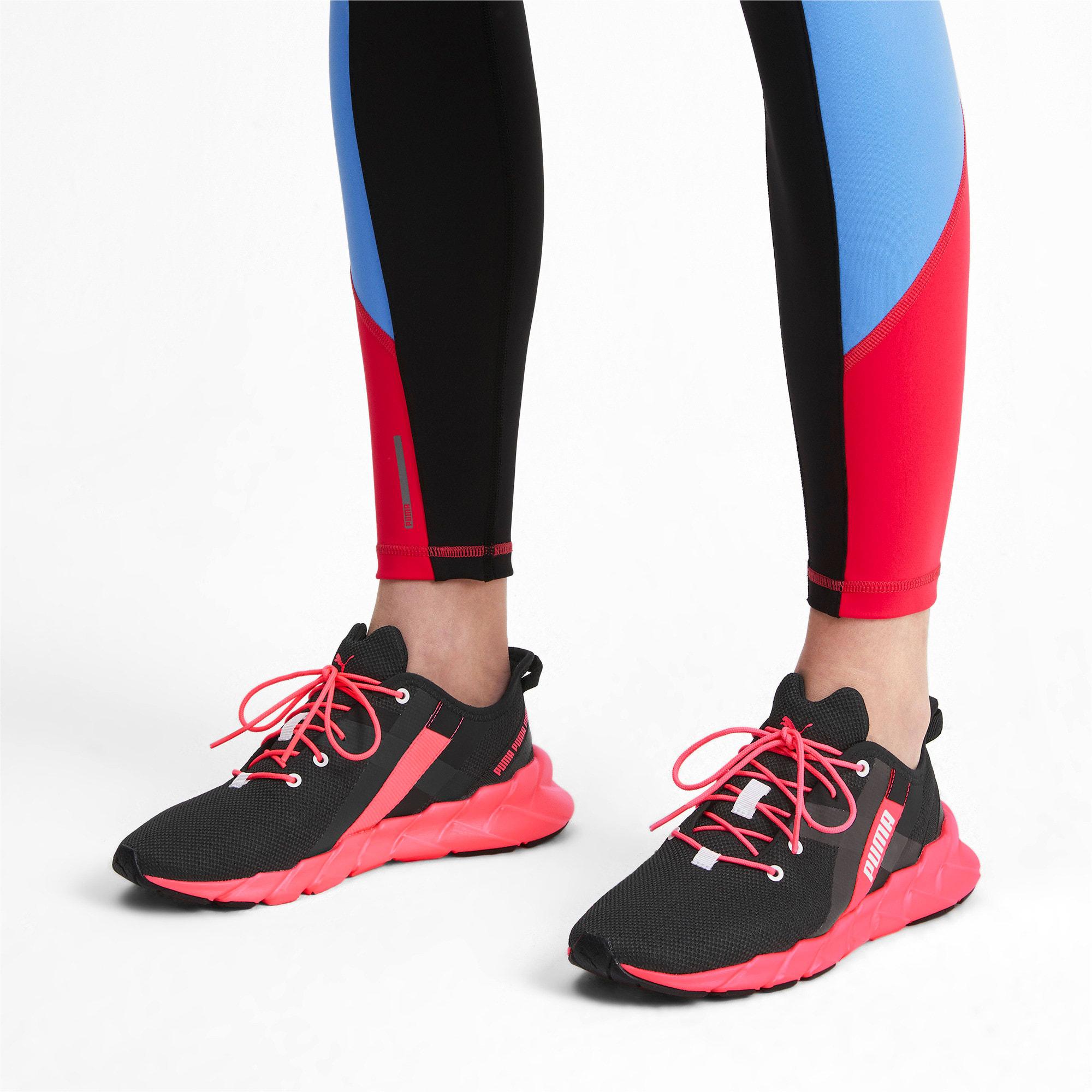Thumbnail 2 of Weave XT Women's Training Shoes, Puma Black-Pink Alert, medium