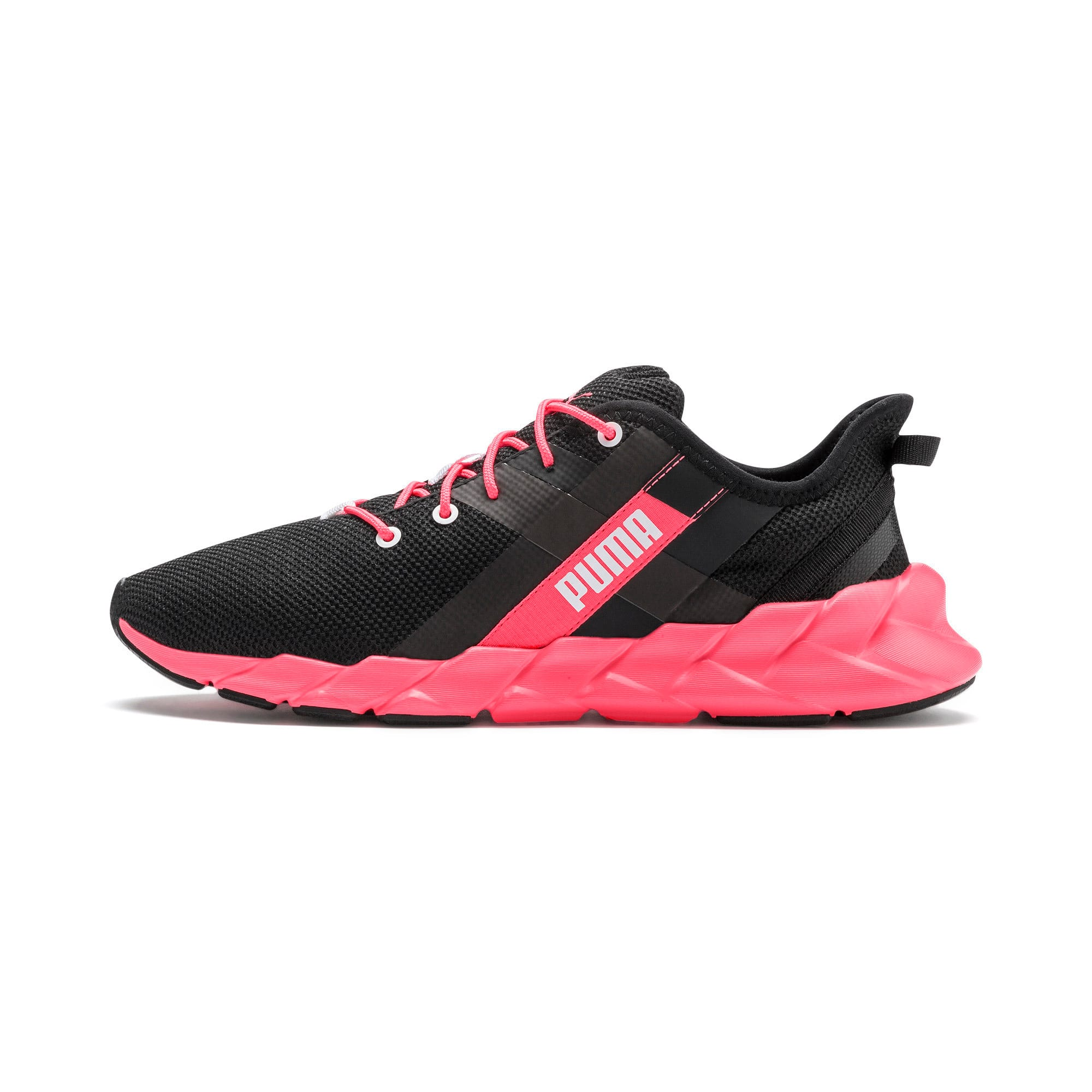 Thumbnail 1 of Weave XT Women's Training Shoes, Puma Black-Pink Alert, medium
