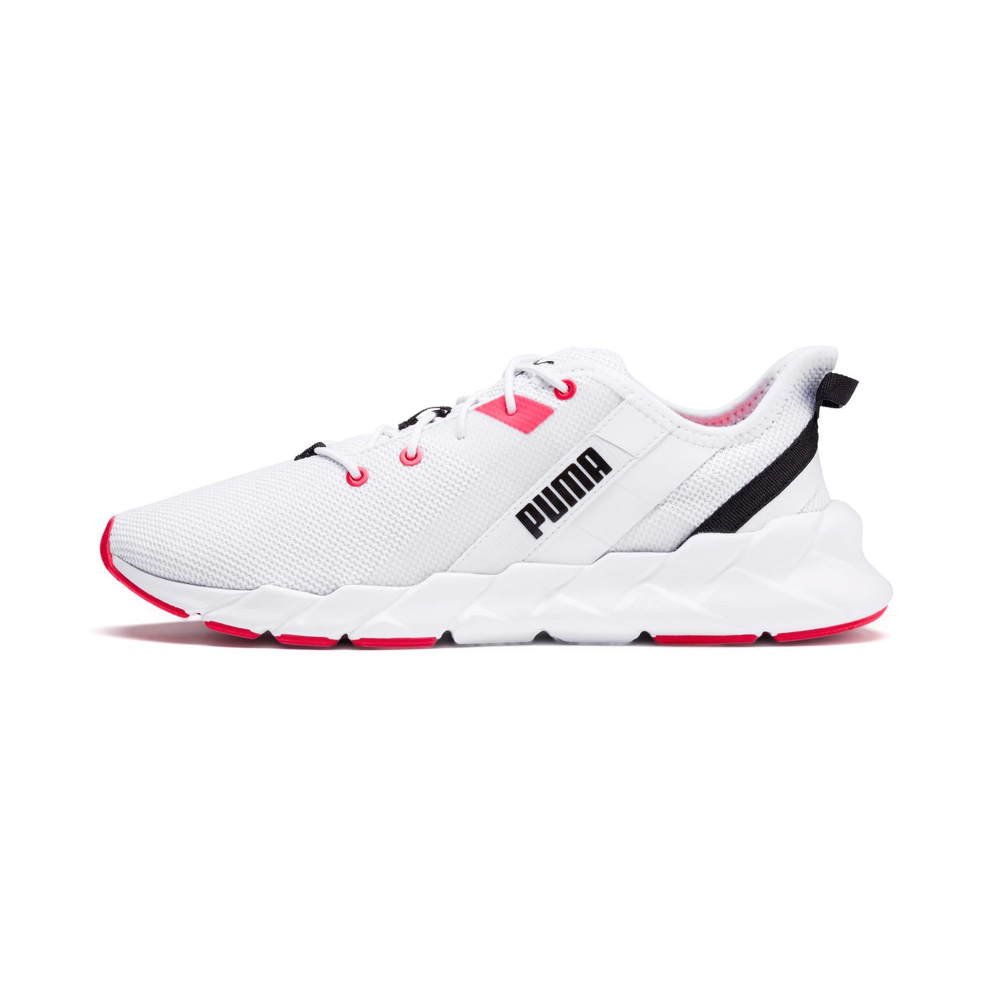 Thumbnail 1 of Weave XT Women's Training Shoes, Puma White-Pink Alert, medium-IND
