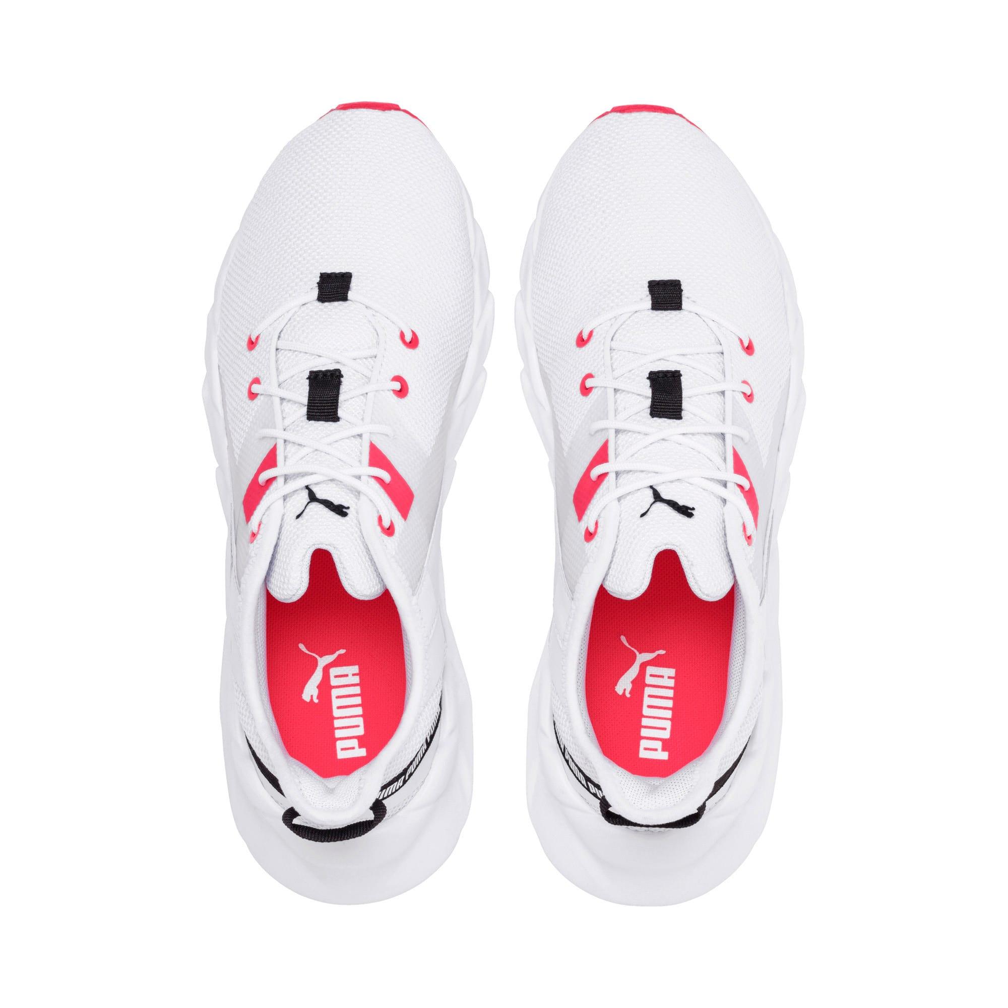Thumbnail 9 of Weave XT Women's Training Shoes, Puma White-Pink Alert, medium-IND
