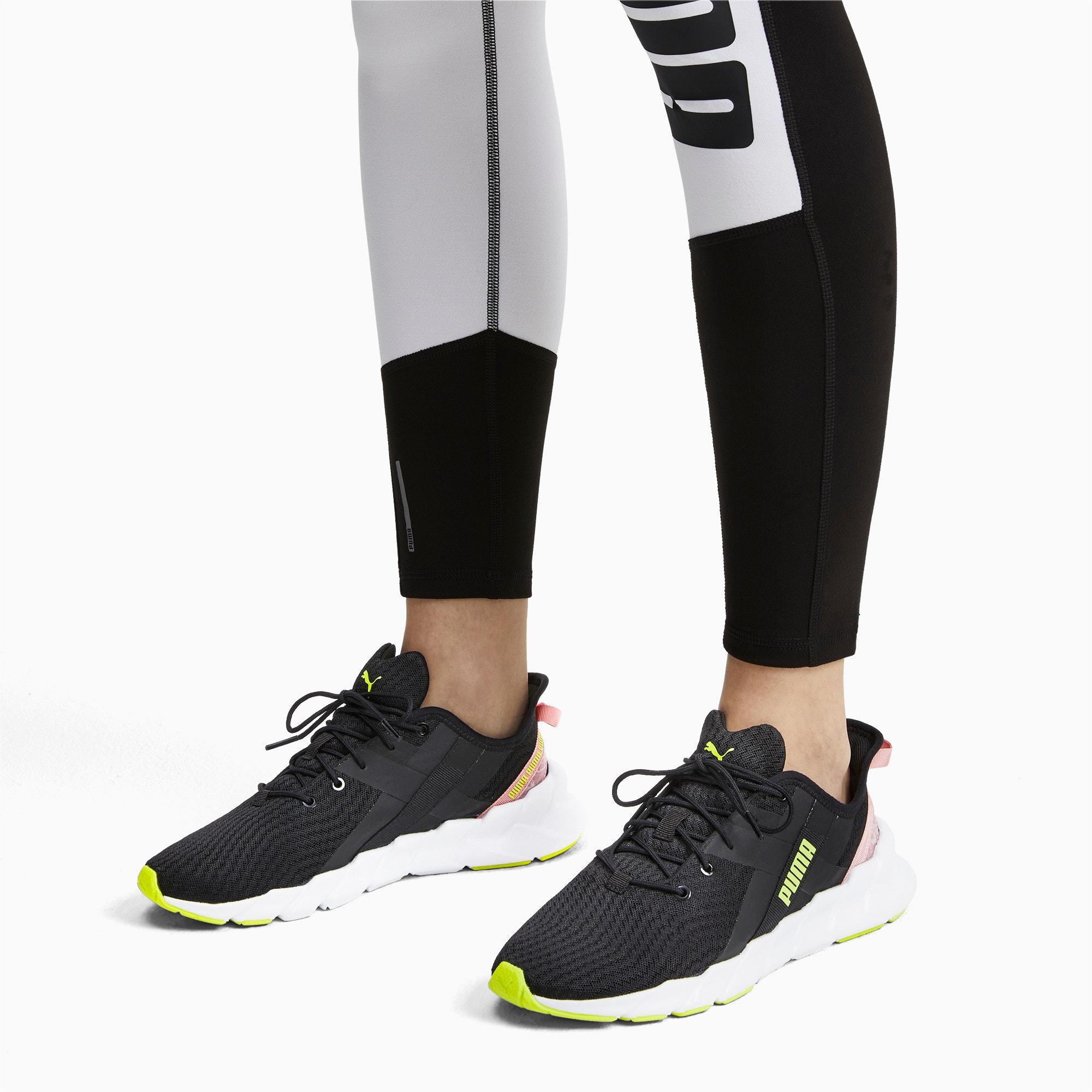 Thumbnail 2 of Weave XT Shift Women's Training Shoes, Puma Black-Puma White, medium