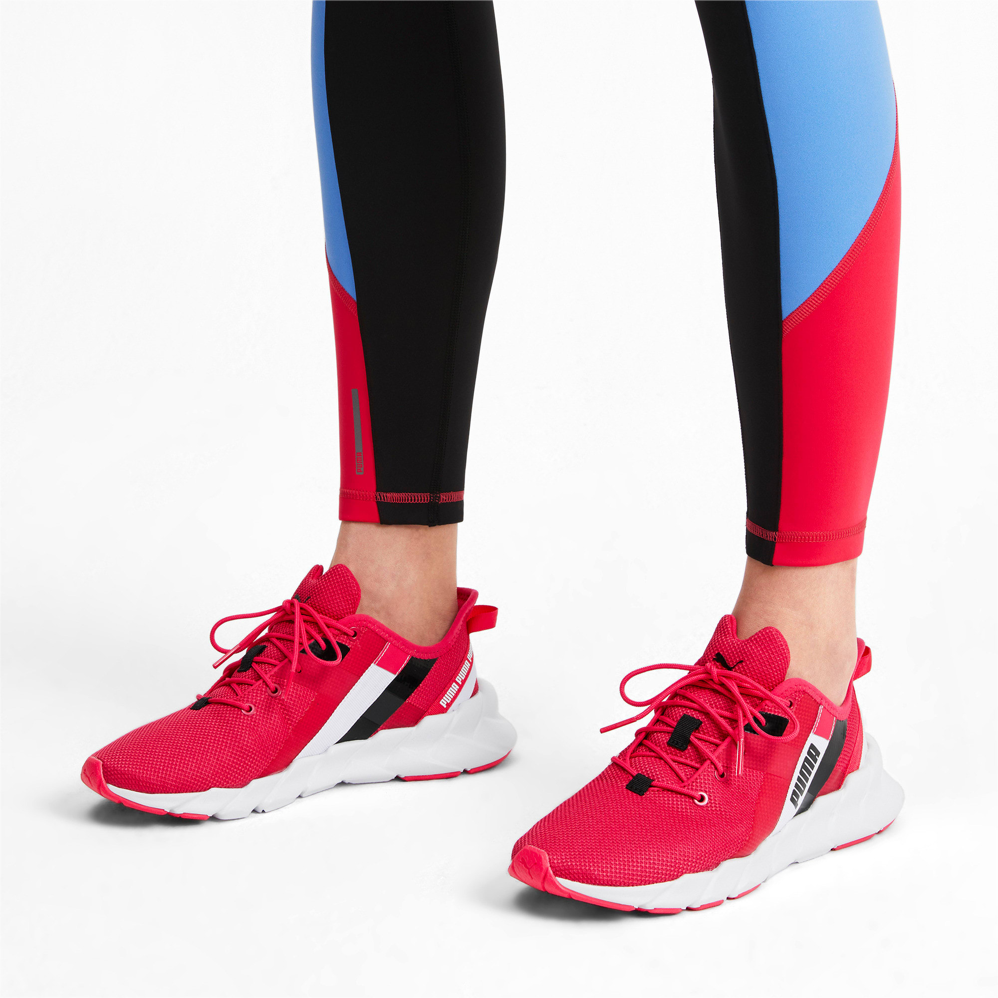 Thumbnail 2 of Weave XT Shift Women's Training Shoes, Nrgy Rose-Puma White, medium