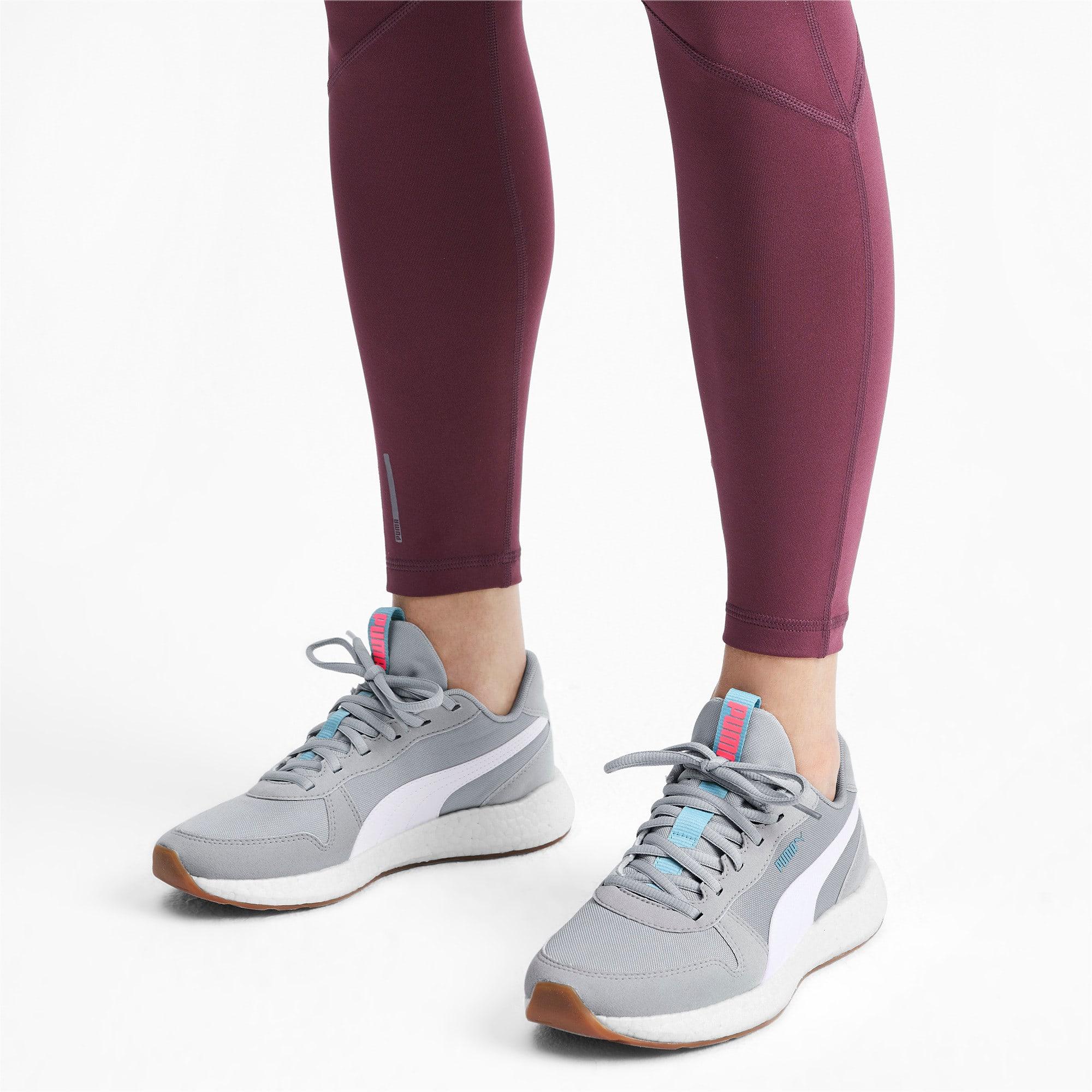 Thumbnail 2 of NRGY Neko Retro Women's Running Shoes, High Rise-Pink Alert, medium-IND