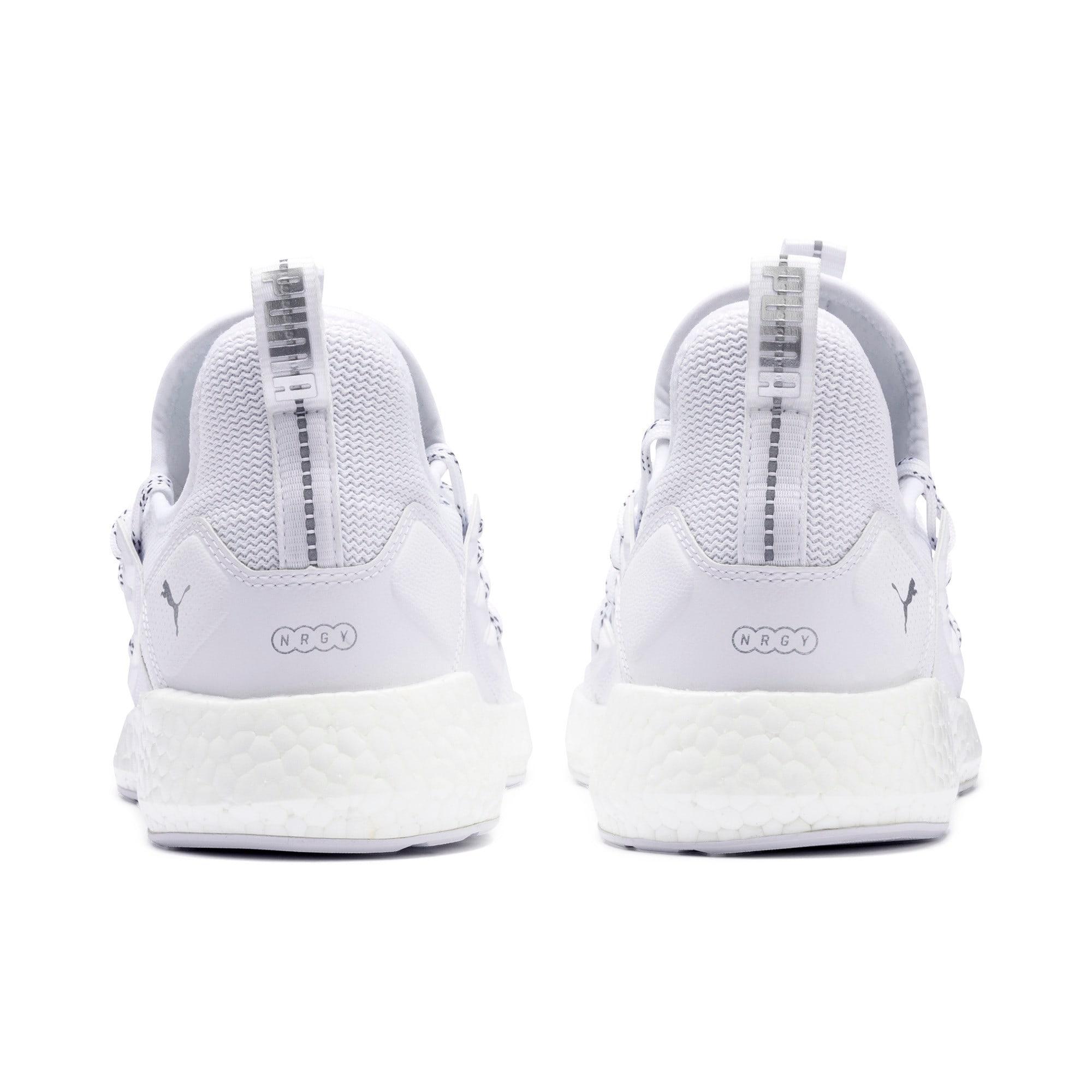 Thumbnail 4 of NRGY Neko Lights Men's Running Shoes, Puma White, medium