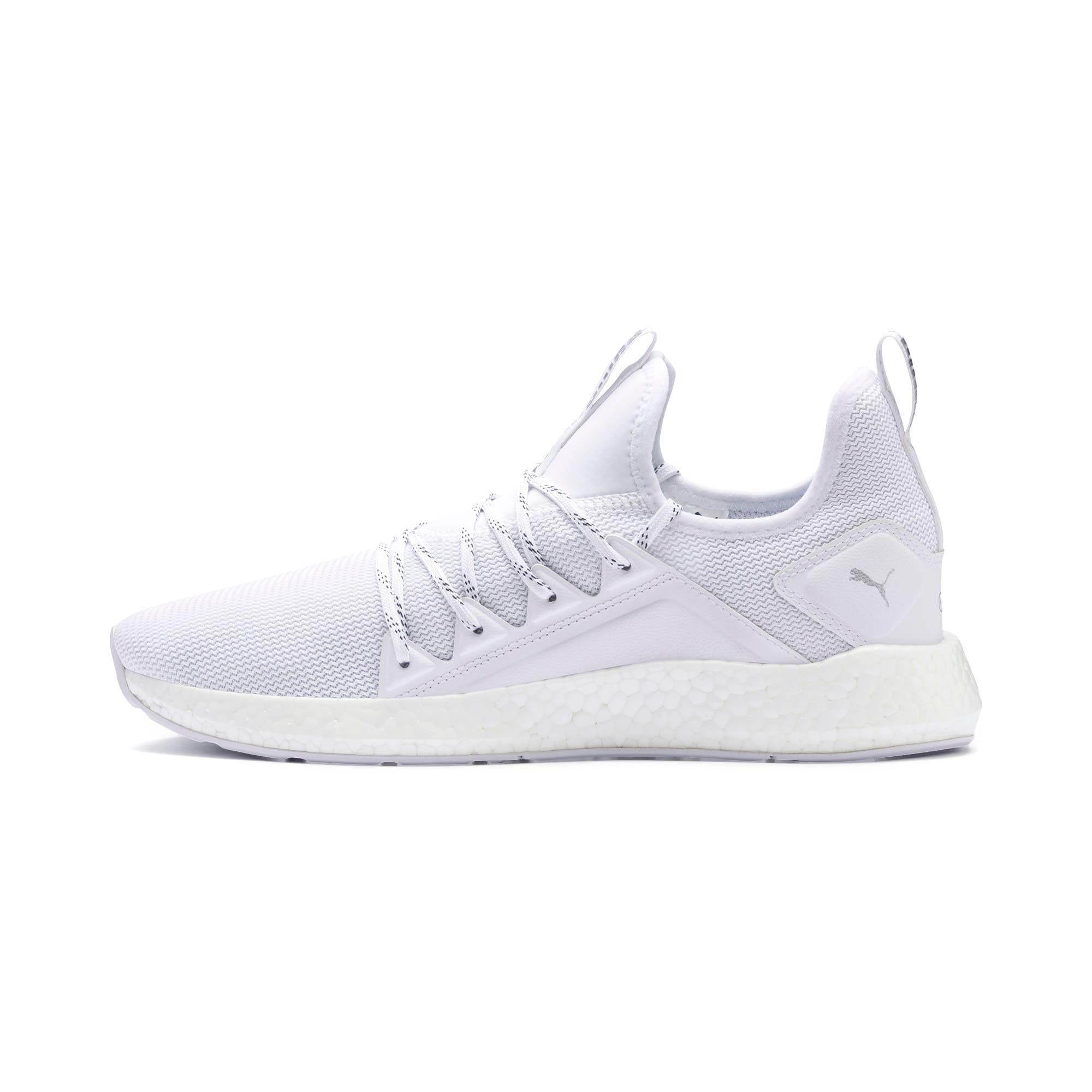 Thumbnail 1 of NRGY Neko Lights Men's Running Shoes, Puma White, medium