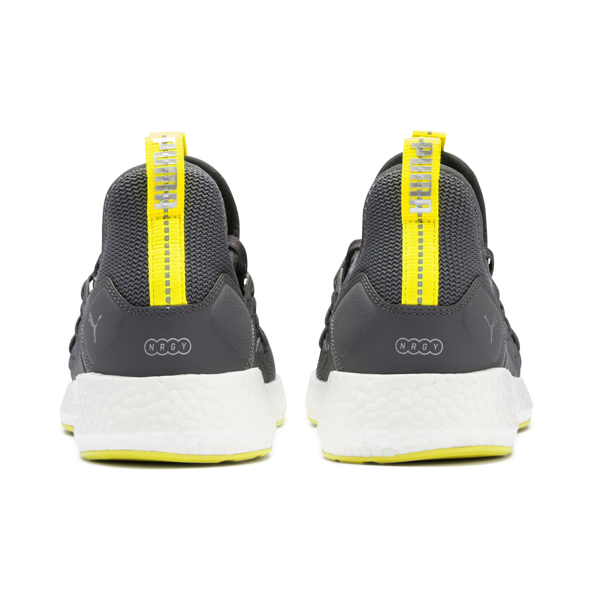Thumbnail 4 of NRGY Neko Lights hardloopschoenen voor heren, CASTLEROCK-Yellow Alert, medium