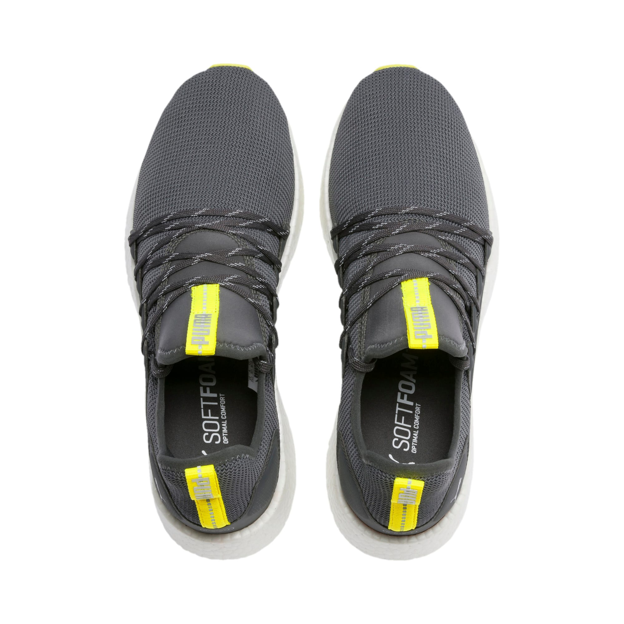 Thumbnail 7 of NRGY Neko Lights hardloopschoenen voor heren, CASTLEROCK-Yellow Alert, medium