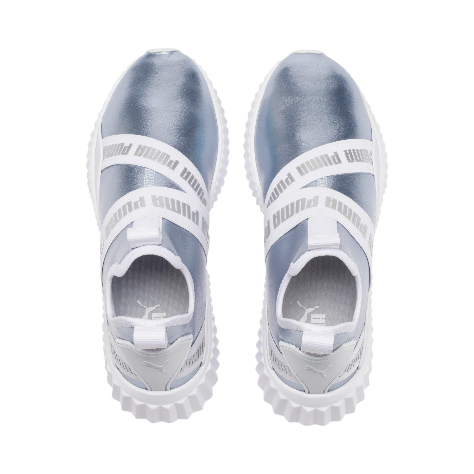 Thumbnail 7 of Defy Mid Metallic Women's Training Shoes, Heather-Puma White, medium