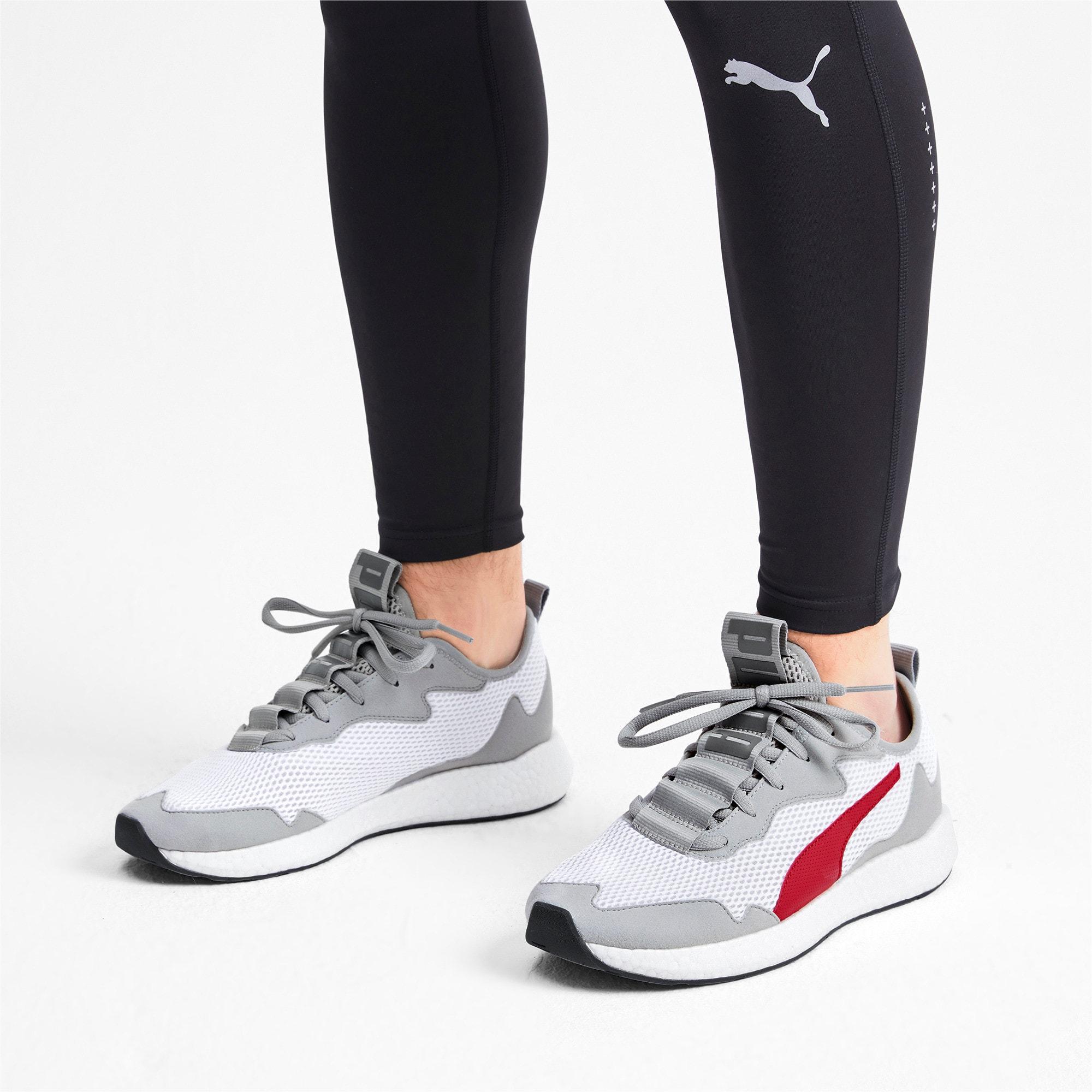 Thumbnail 3 of NRGY Neko Skim Men's Running Shoes, High Rise-High Risk Red, medium