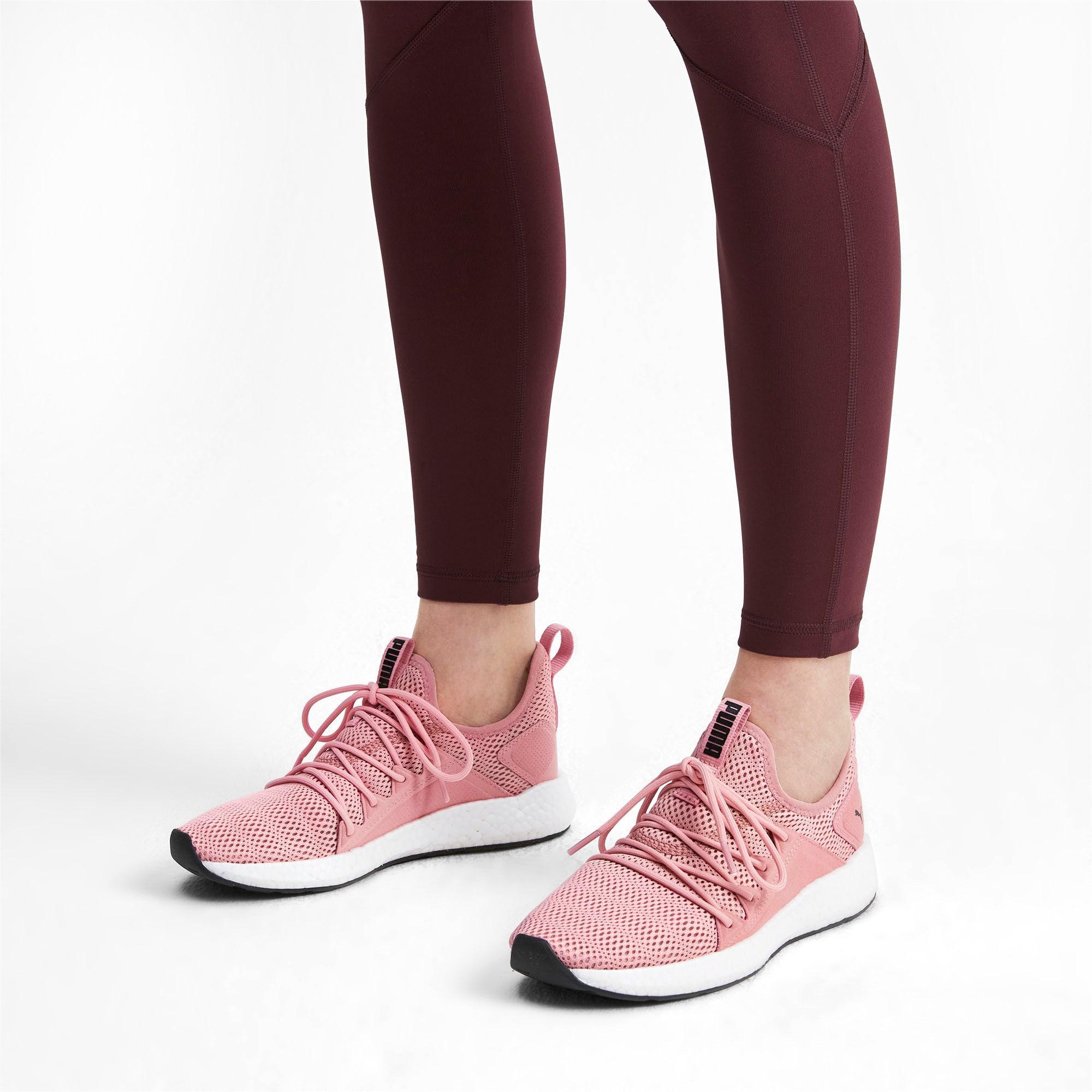 Thumbnail 2 of NRGY Neko Shift Women's Running Shoes, Bridal Rose-Puma White, medium