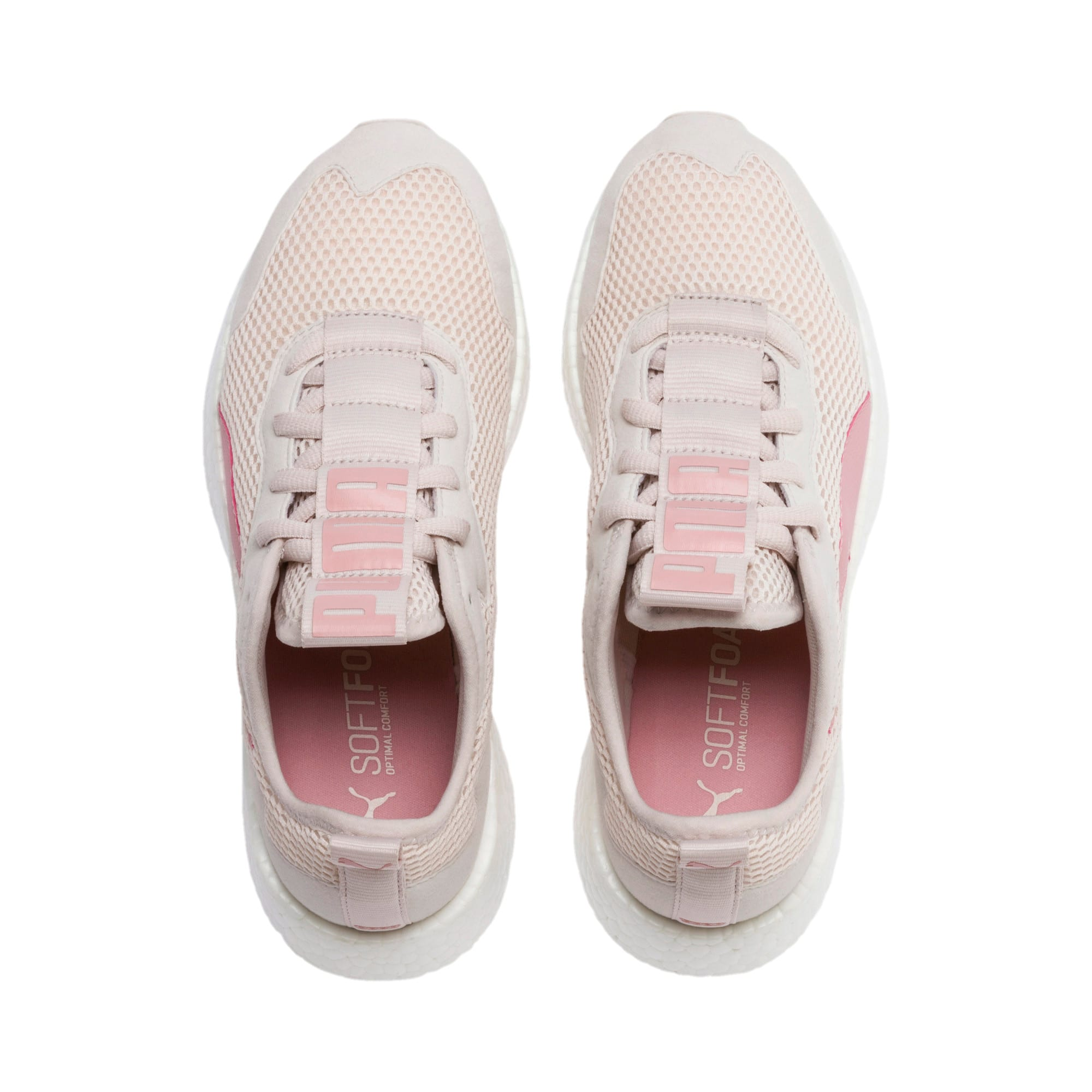 Thumbnail 4 of NRGY Neko Skim Women's Running Shoes, Pastel Parchment-Bridal Rose, medium-IND