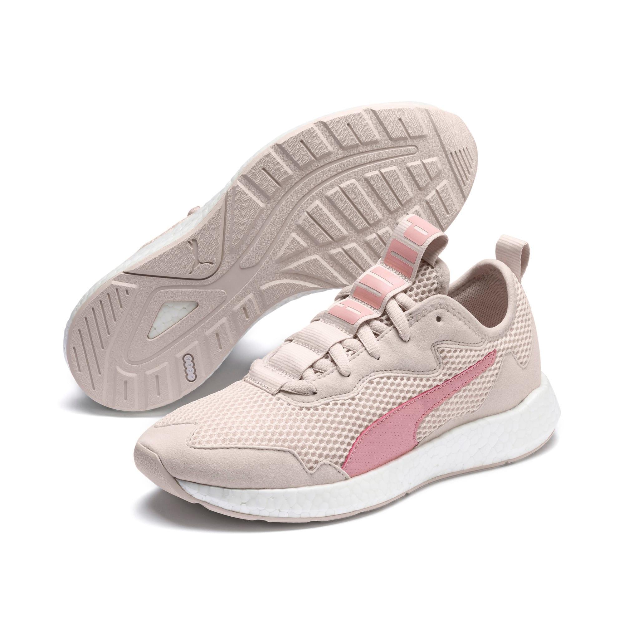 Thumbnail 8 of NRGY Neko Skim Women's Running Shoes, Pastel Parchment-Bridal Rose, medium-IND