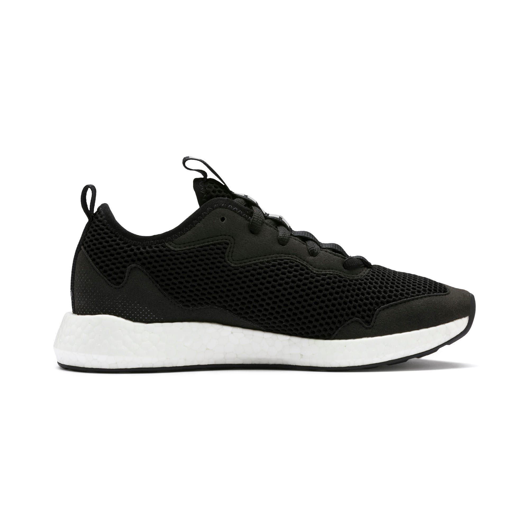 Thumbnail 5 of NRGY Neko Skim Women's Running Shoes, Puma Black-Puma Silver, medium-IND