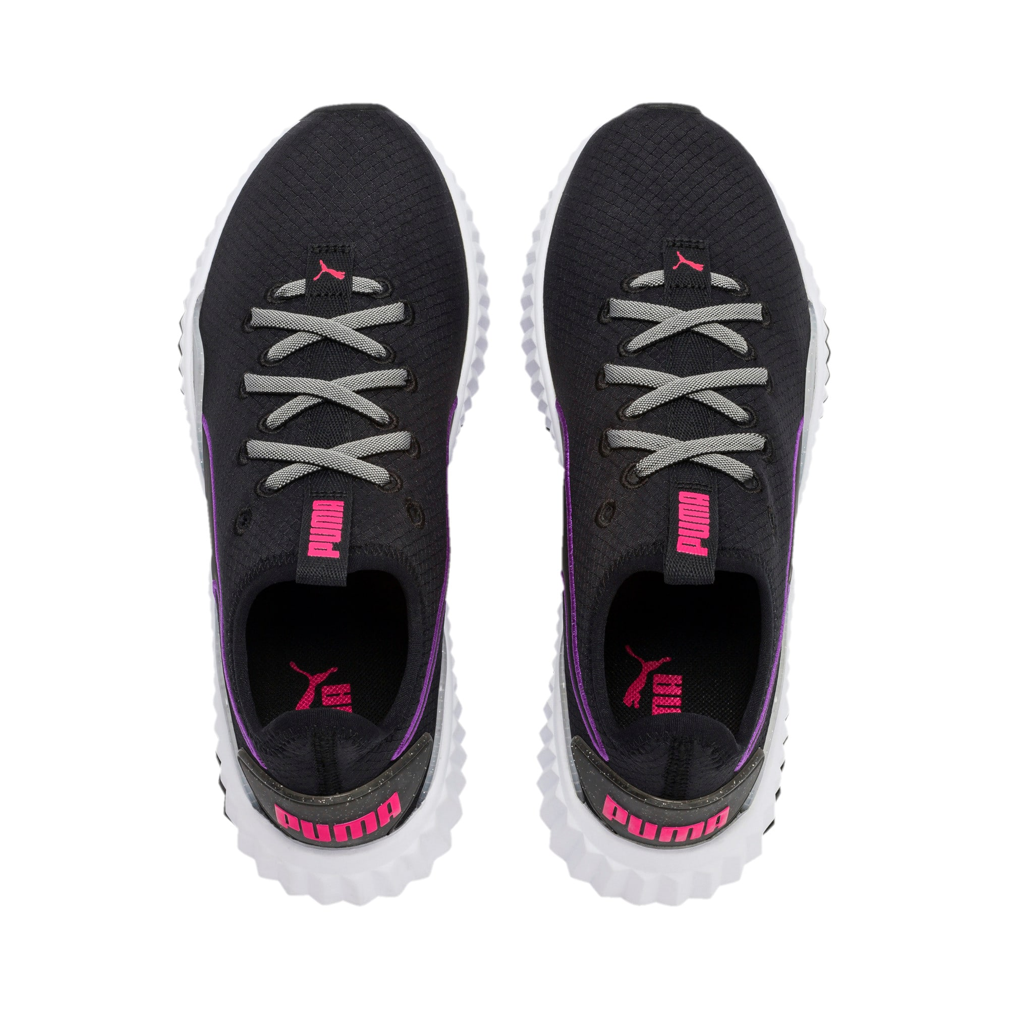Thumbnail 7 of Defy Sheen Women's Training Shoes, Puma Black-Puma White, medium