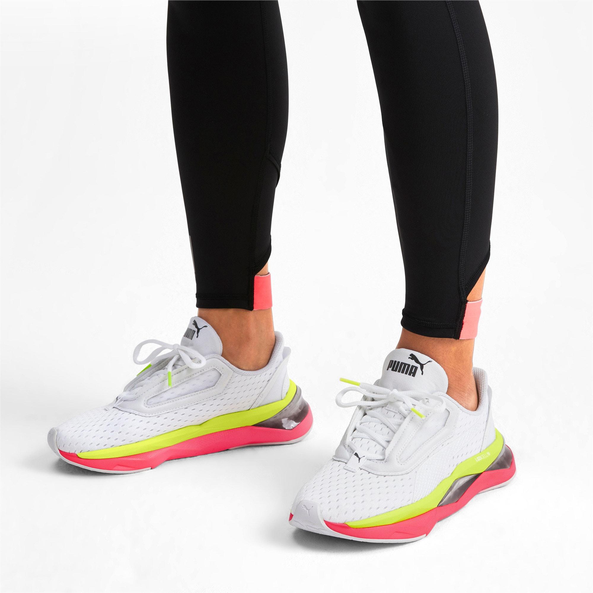 Thumbnail 2 of LQDCell Shatter XT Women's Training Shoes, Puma White-Pink Alert, medium-IND