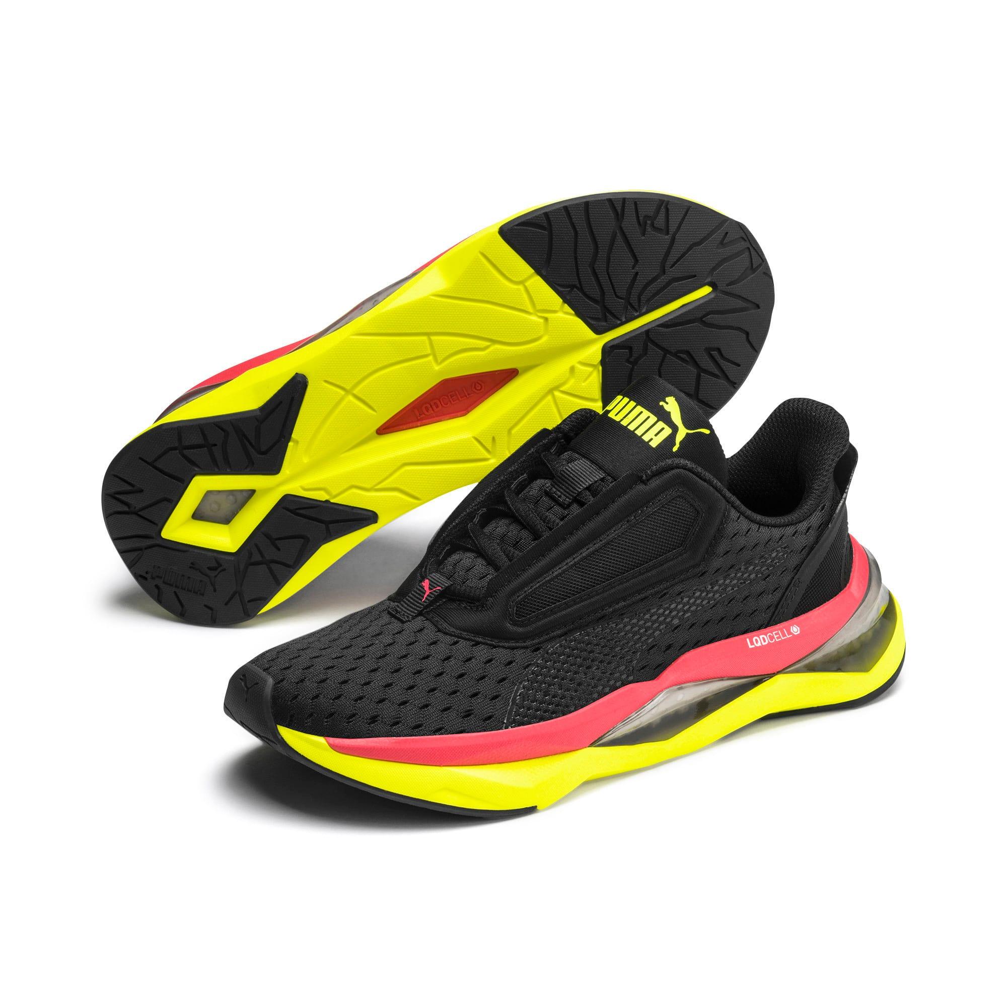 Thumbnail 3 of LQDCell Shatter XT Women's Training Shoes, Puma Black-Yellow Alert, medium