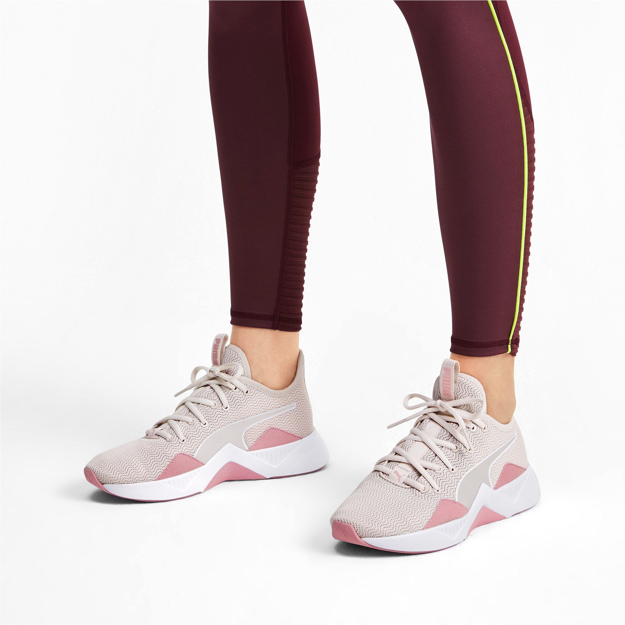 Thumbnail 3 of Incite FS Shift Women's Trainers, Pastel Parchment-Rose-White, medium-IND