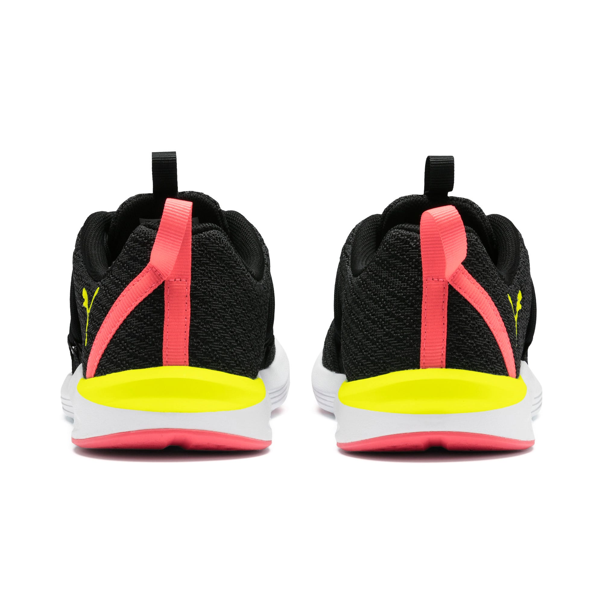 Imagen en miniatura 4 de Zapatillas de mujer Prowl Alt Neon, Puma Black-Yellow Alert, mediana