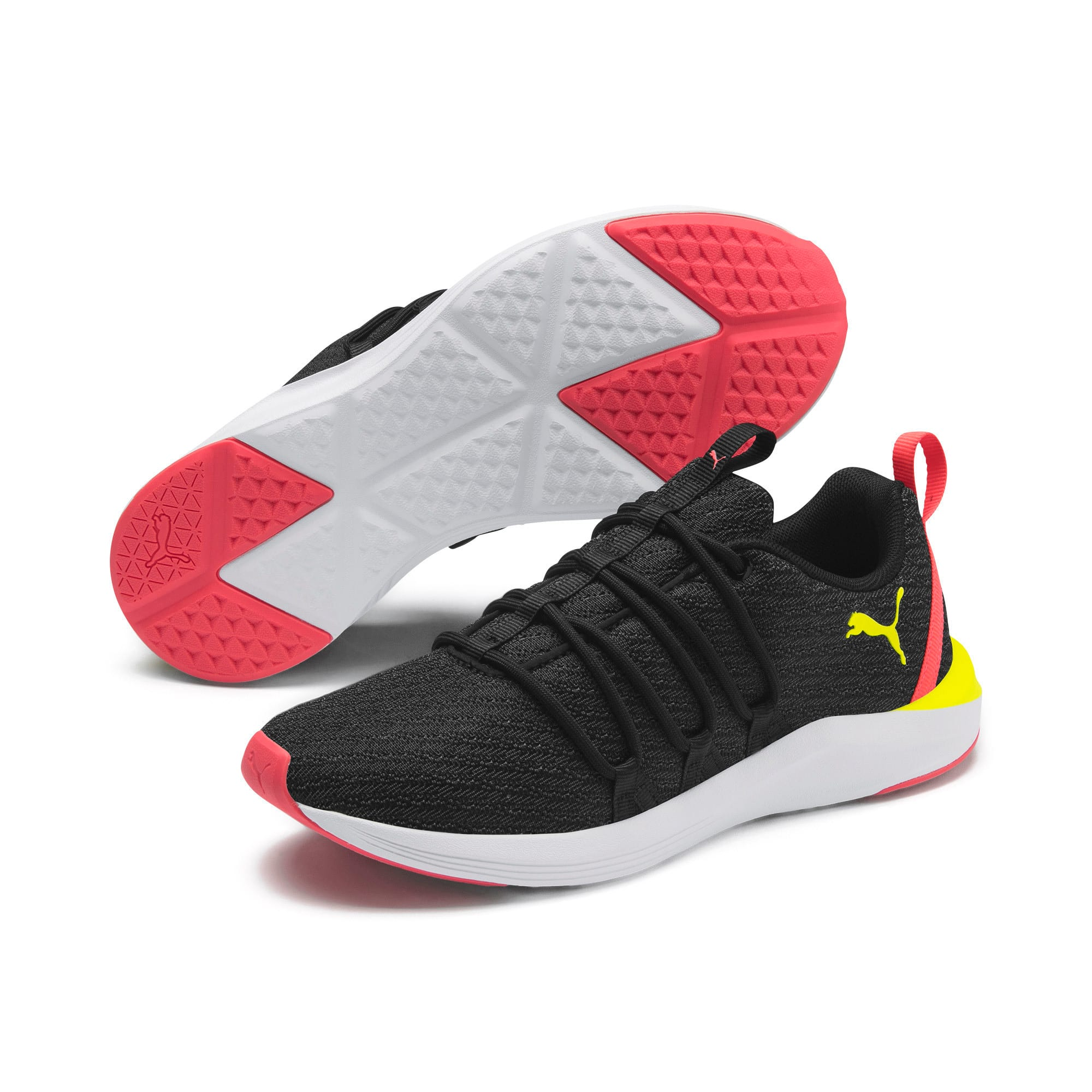 Thumbnail 3 van Prowl Alt Neon sportschoenen voor vrouwen, Puma Black-Yellow Alert, medium