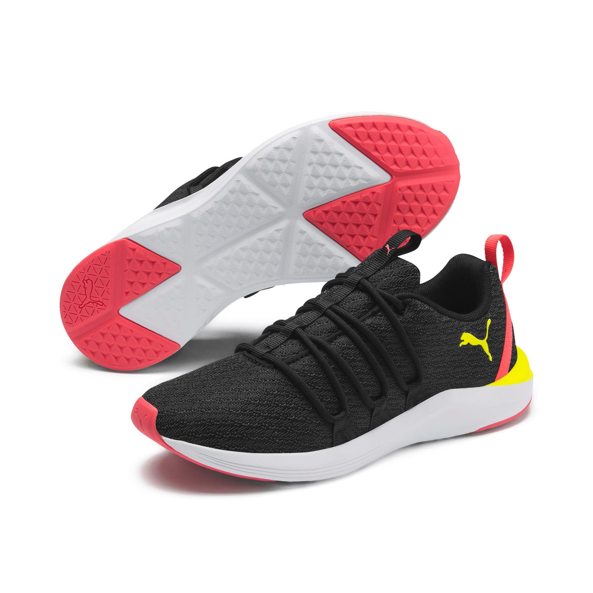 Thumbnail 3 of Prowl Alt Neon Women's Training Shoes, Puma Black-Yellow Alert, medium