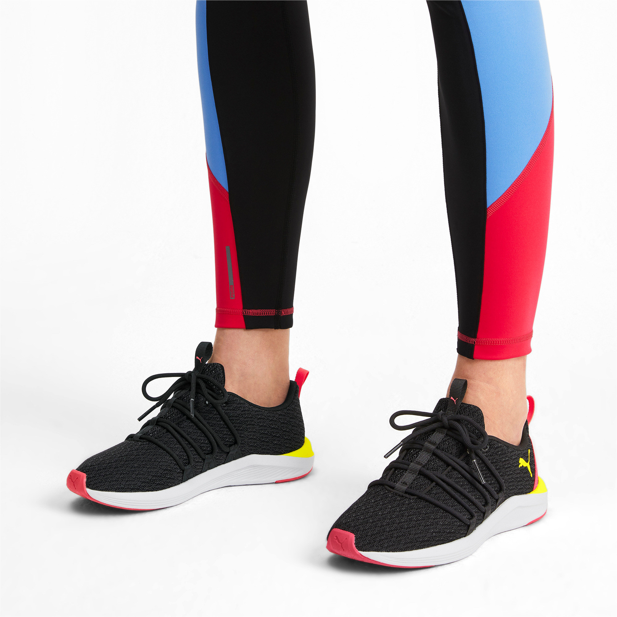 Imagen en miniatura 2 de Zapatillas de mujer Prowl Alt Neon, Puma Black-Yellow Alert, mediana