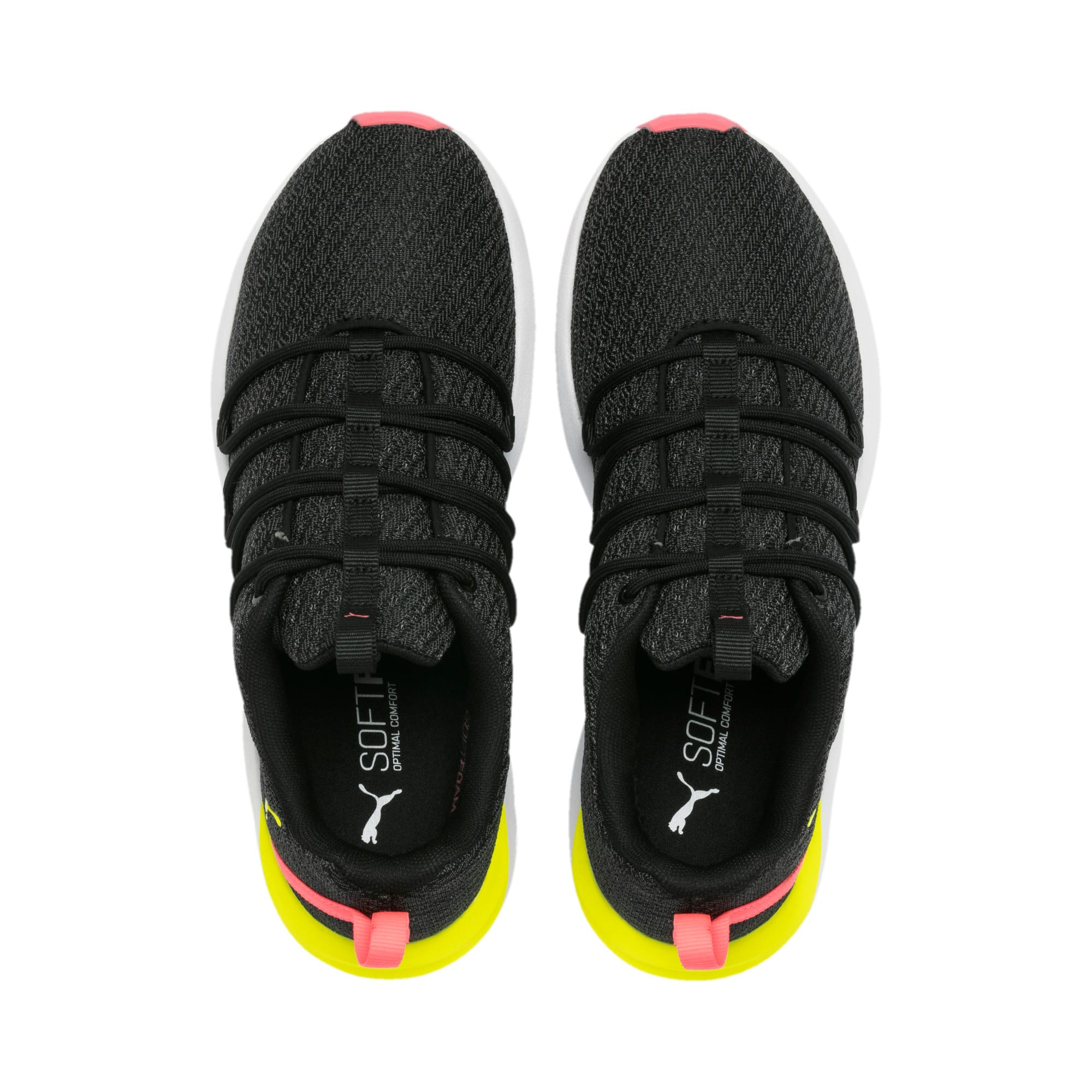 Imagen en miniatura 7 de Zapatillas de mujer Prowl Alt Neon, Puma Black-Yellow Alert, mediana