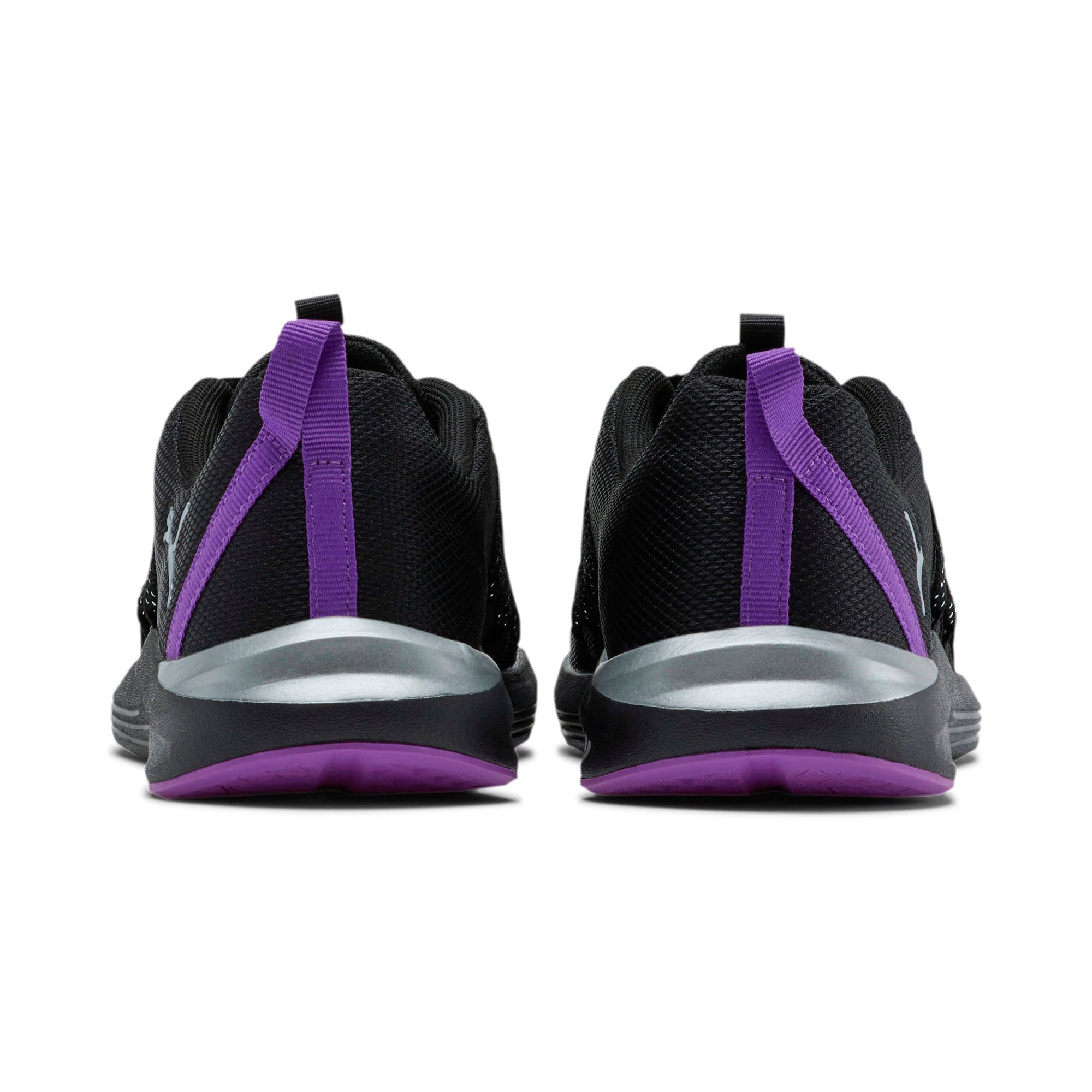 Thumbnail 4 of Prowl Alt Metal Women's Training Shoes, Puma Black-Purple Glimmer, medium