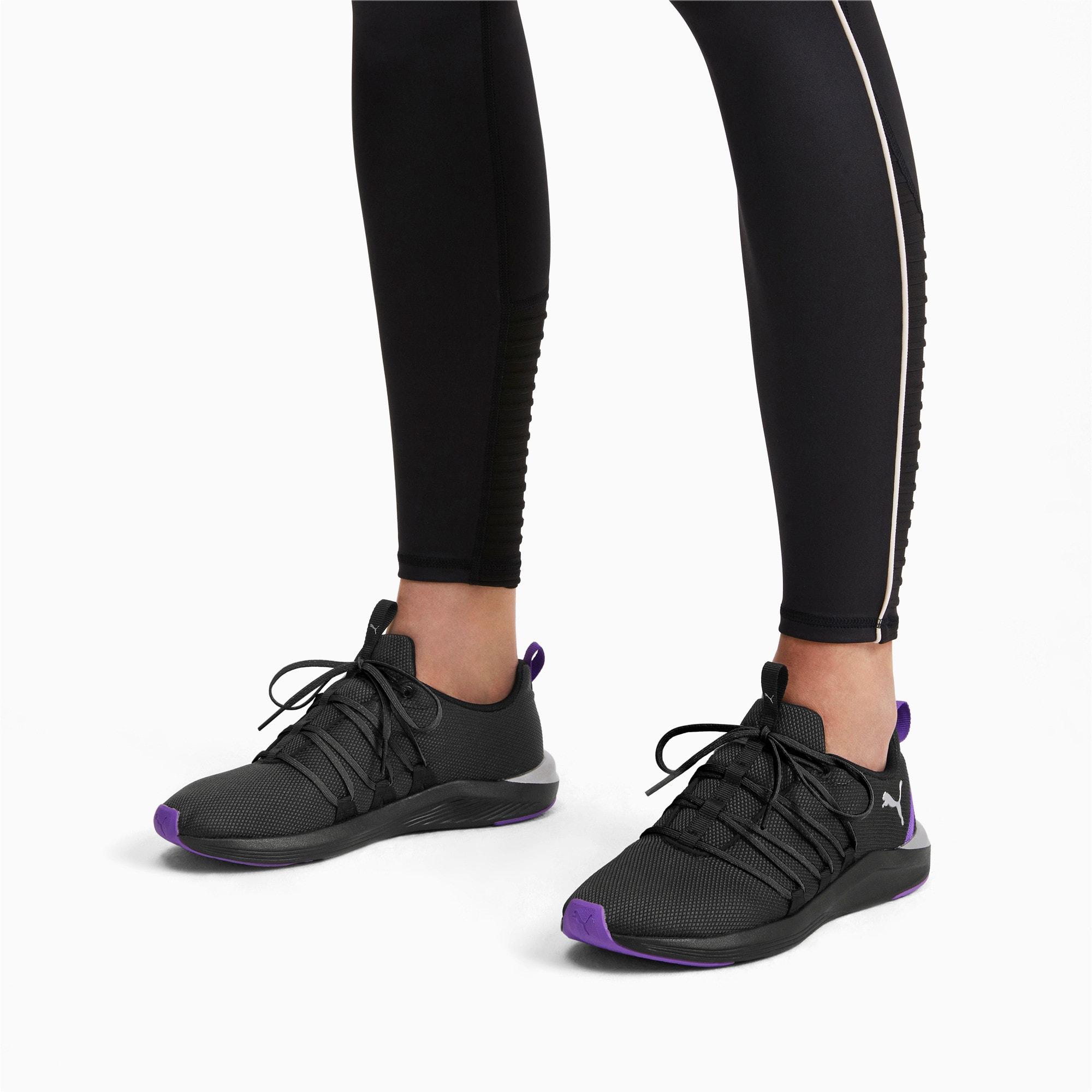 Thumbnail 2 of Prowl Alt Metal Women's Training Shoes, Puma Black-Purple Glimmer, medium