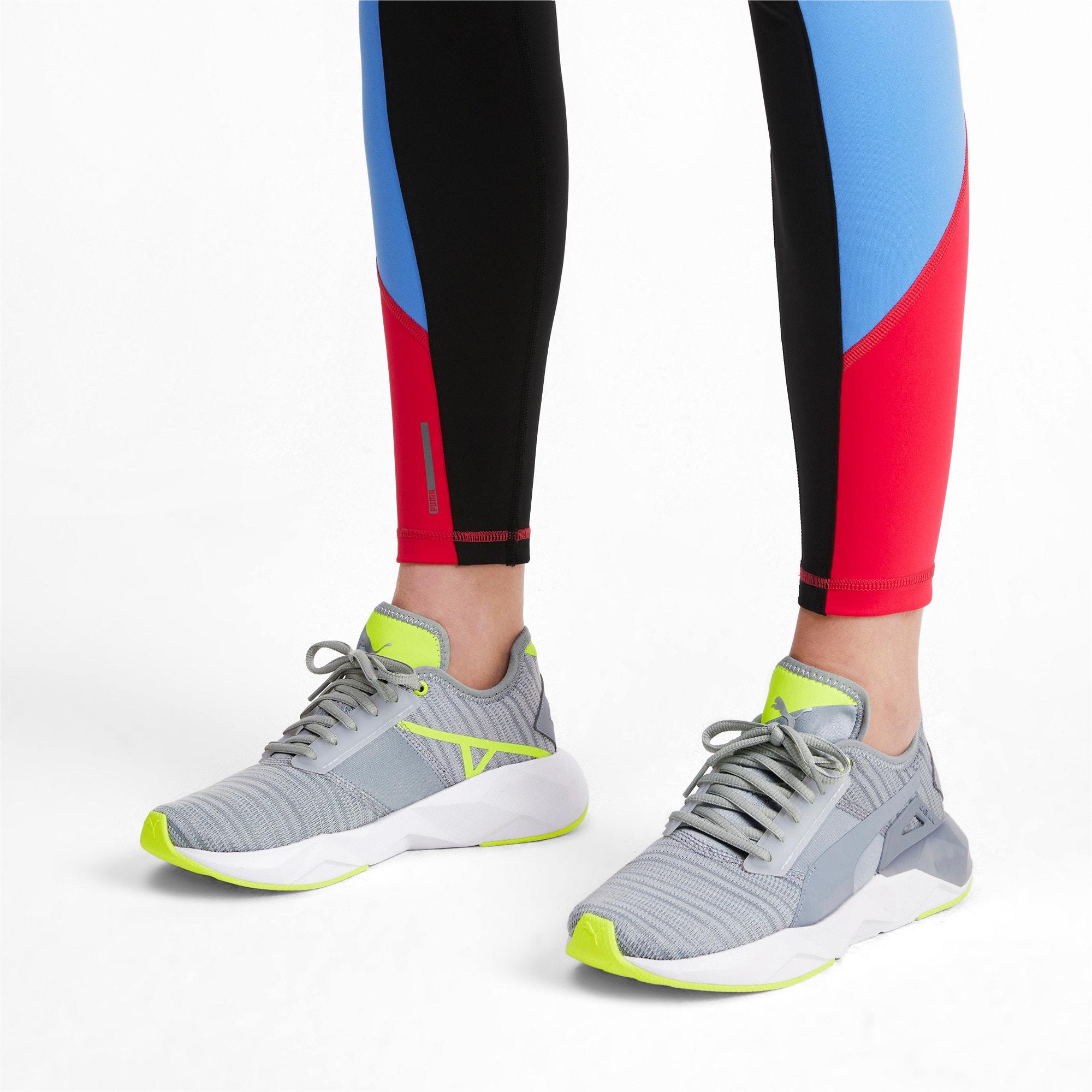 Thumbnail 2 of CELL Plasmic Damen Sneaker, Quarry-Puma White, medium
