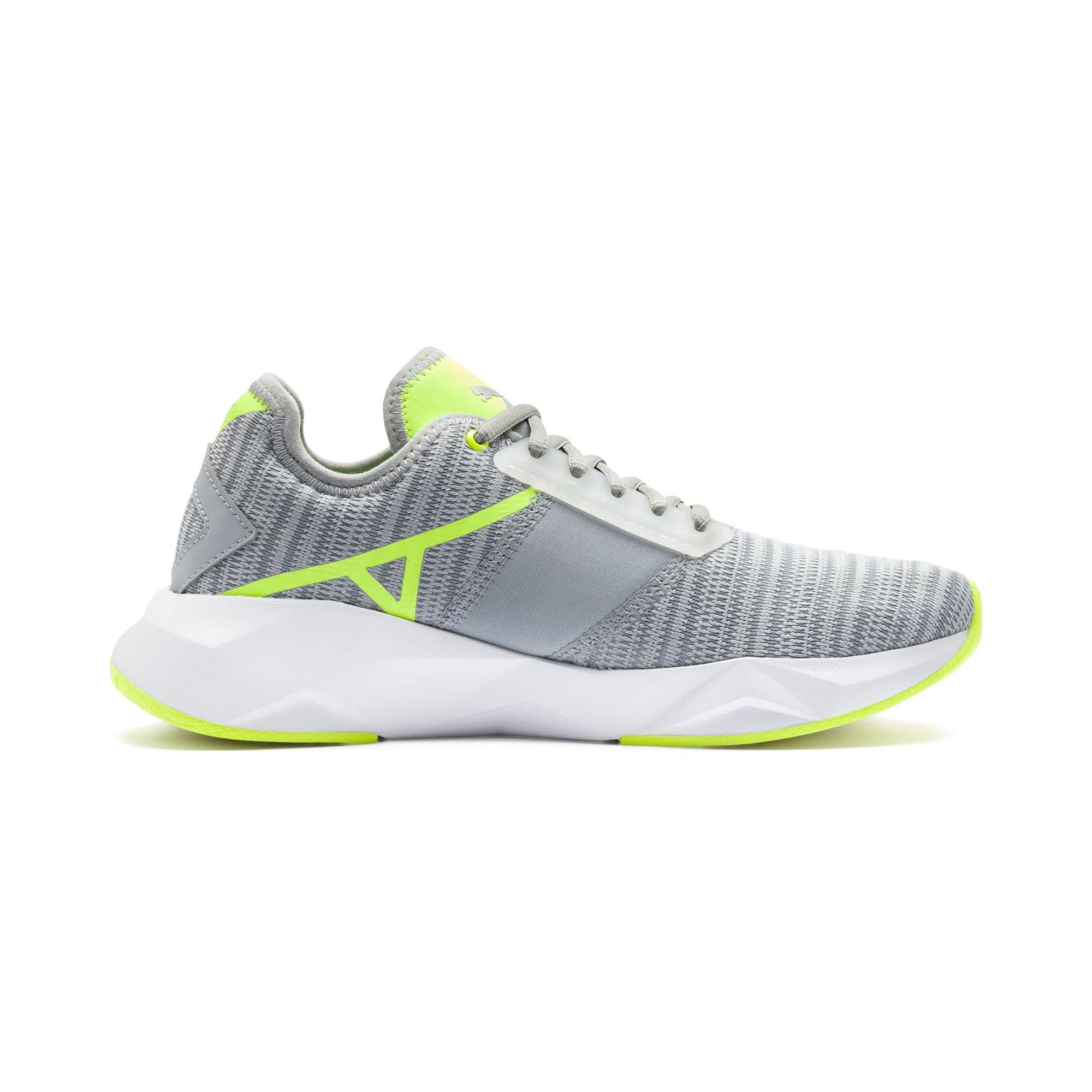 Thumbnail 6 of CELL Plasmic Damen Sneaker, Quarry-Puma White, medium