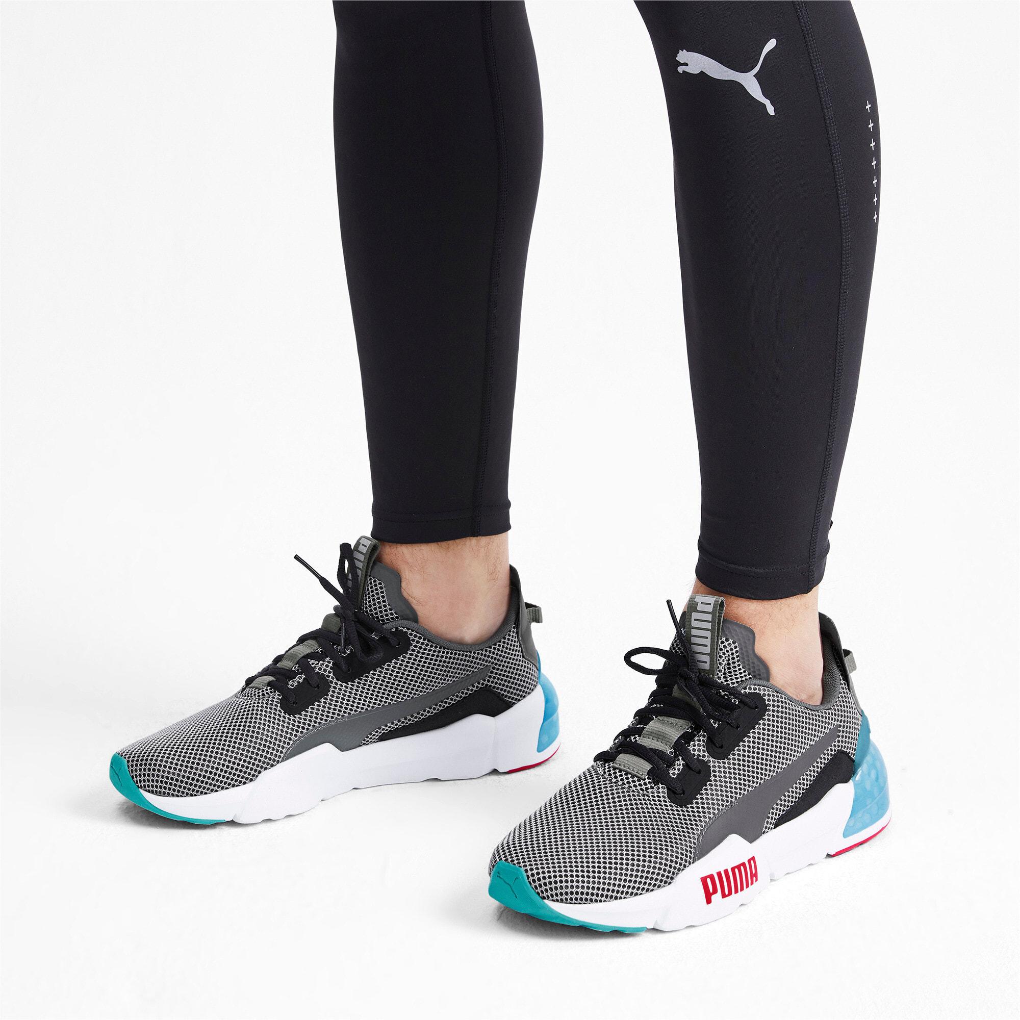 Thumbnail 2 of CELL Phase Men's Training Shoes, CASTLEROCK-White-HighRiskRed, medium