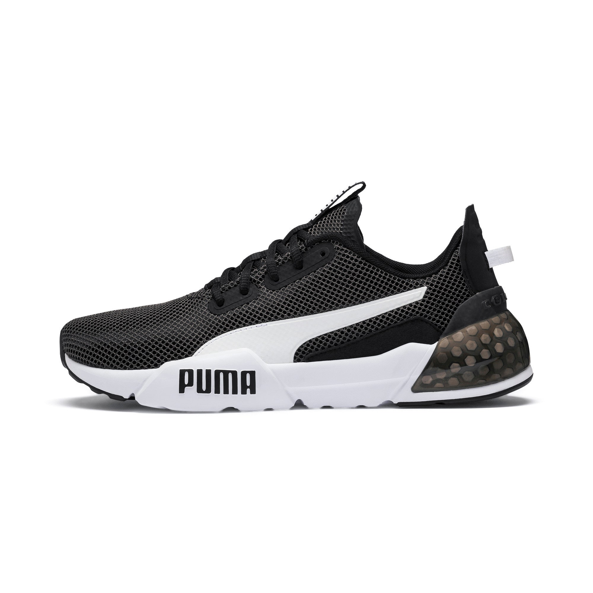 Thumbnail 1 of CELL Phase Herren Running Sneaker, Puma Black-Puma White, medium