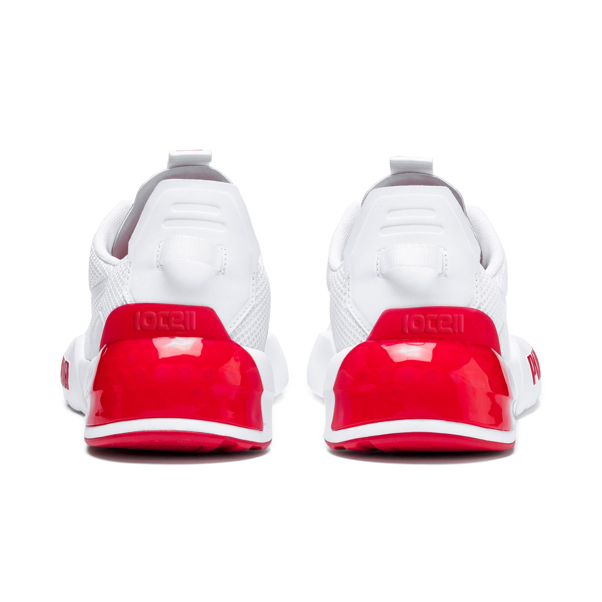 Thumbnail 4 of CELL Phase Men's Training Shoes, Puma White-High Risk Red, medium
